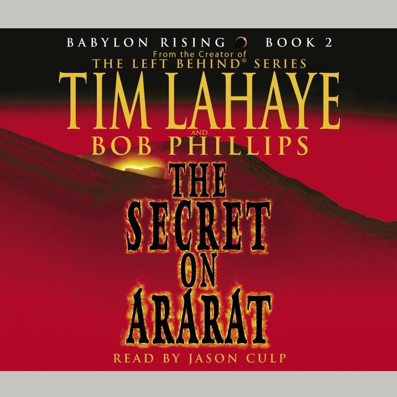 Printable The Secret on Ararat Audiobook Cover Art