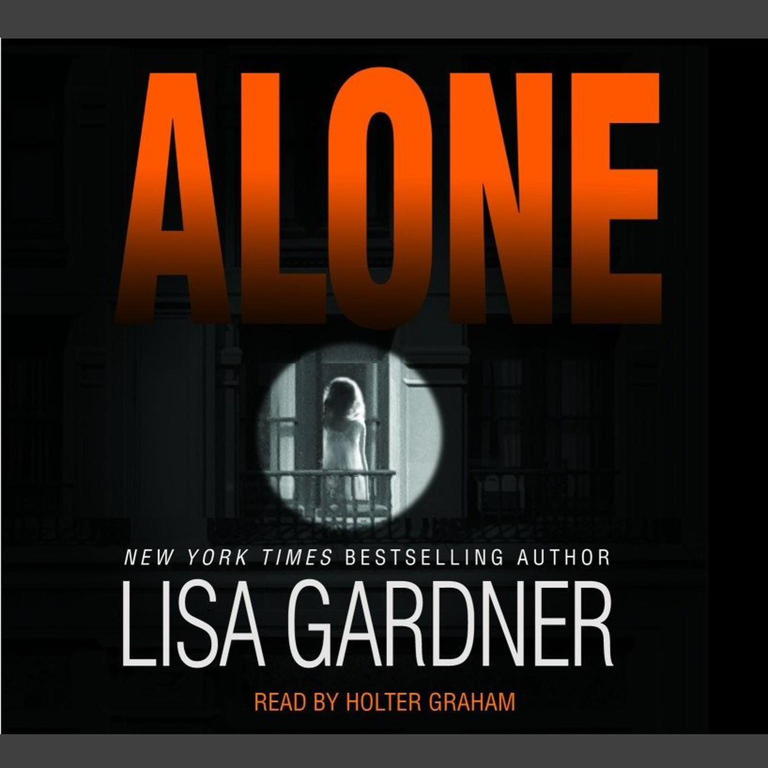 Printable Alone: A Novel of Suspense Audiobook Cover Art