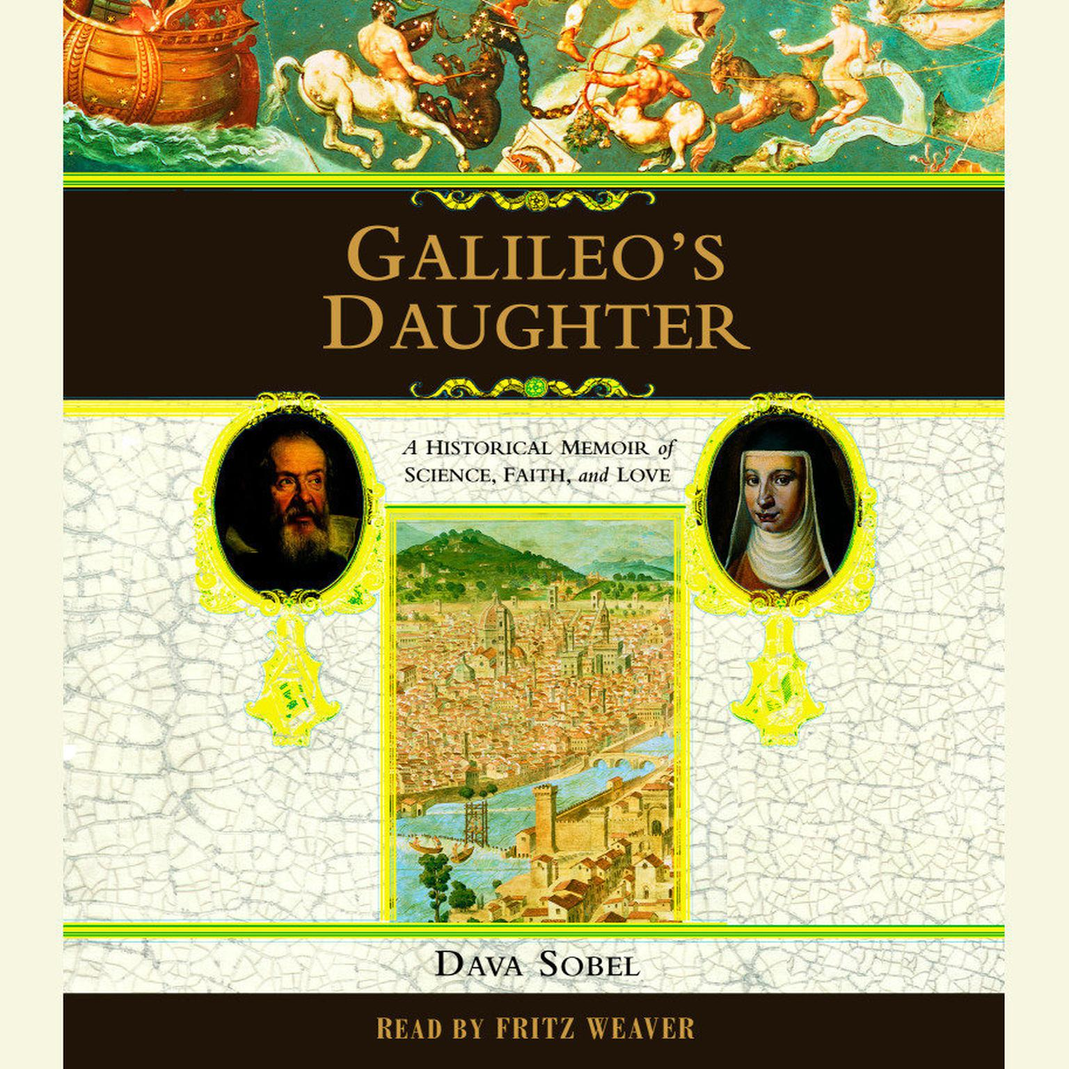 Printable Galileo's Daughter: A Historical Memoir of Science, Faith, and Love Audiobook Cover Art