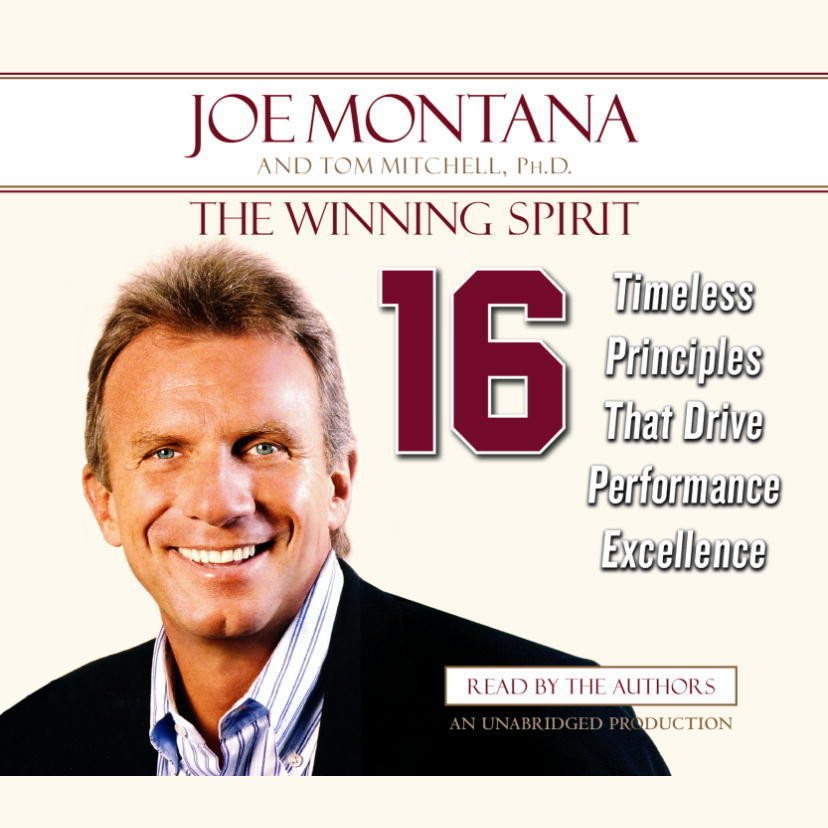 Printable The Winning Spirit: Sixteen Timeless Principles That Drive Performance Excellence Audiobook Cover Art