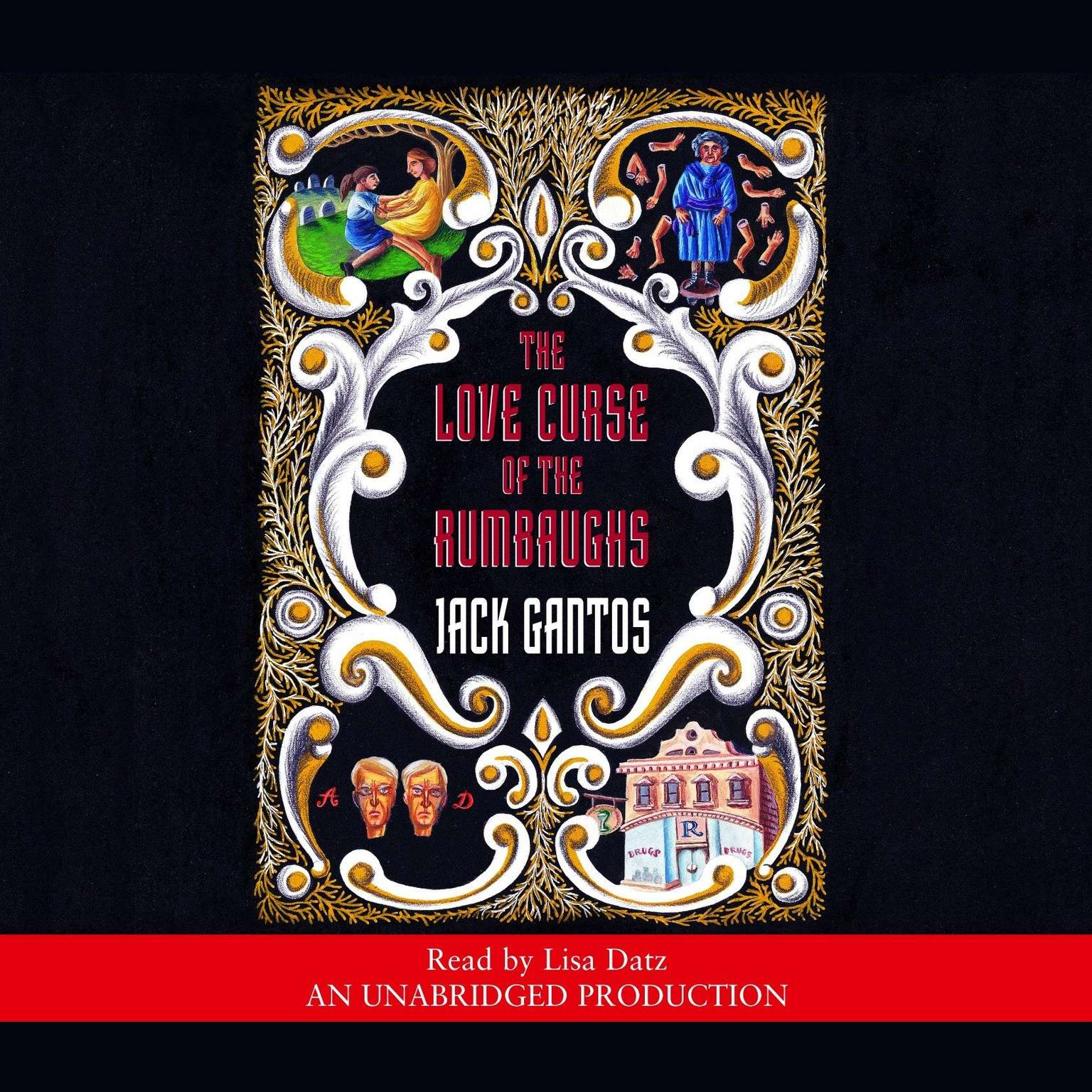 Printable The Love Curse of the Rumbaughs Audiobook Cover Art