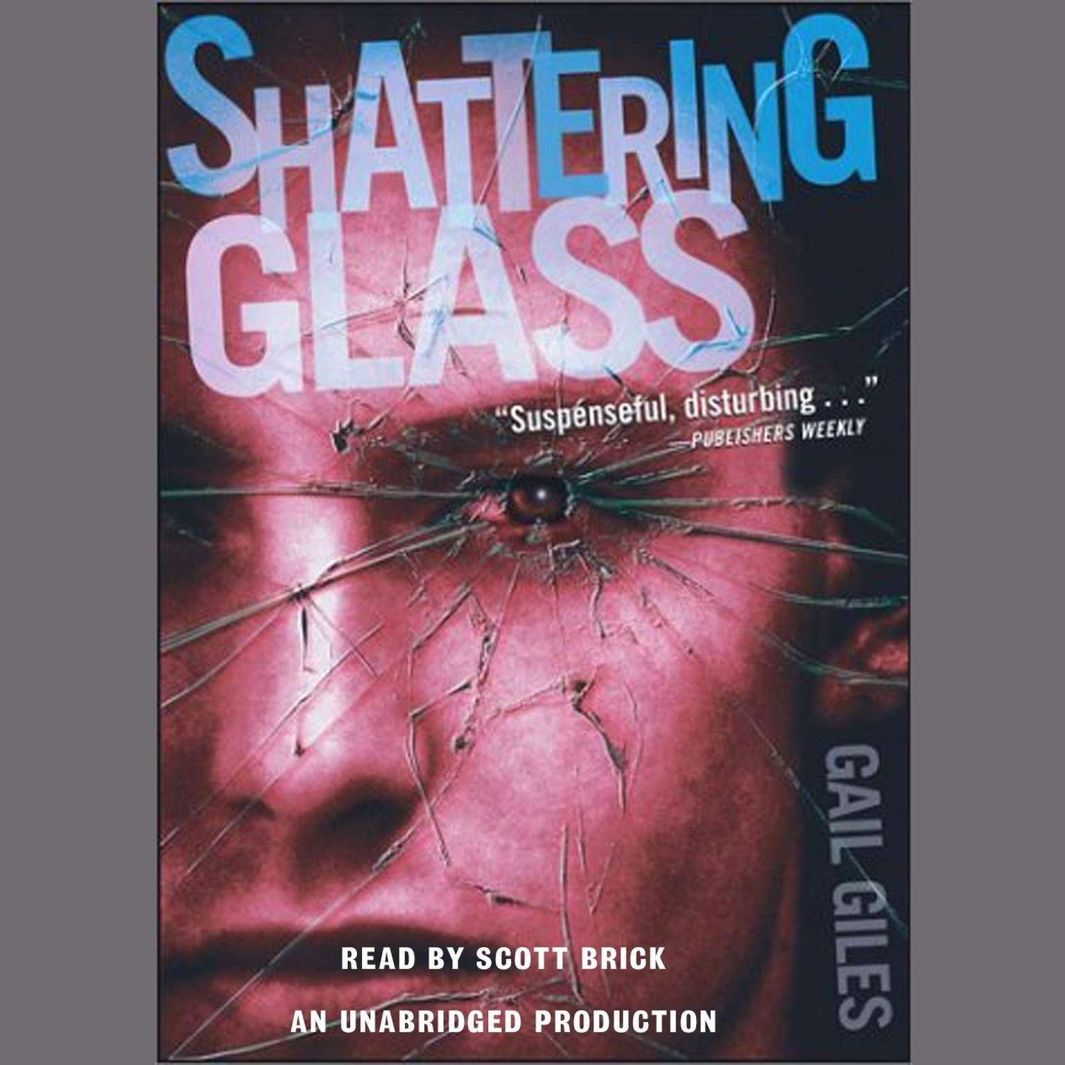 Printable Shattering Glass Audiobook Cover Art