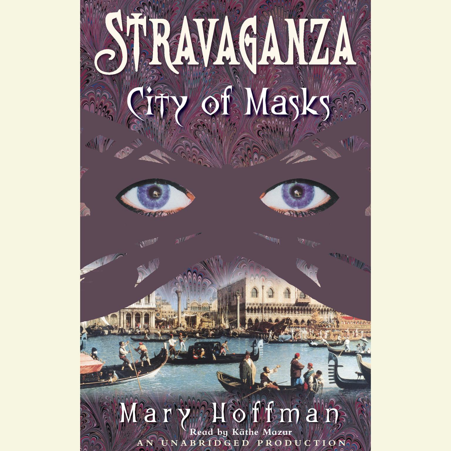 Printable Stravaganza: City of Masks Audiobook Cover Art