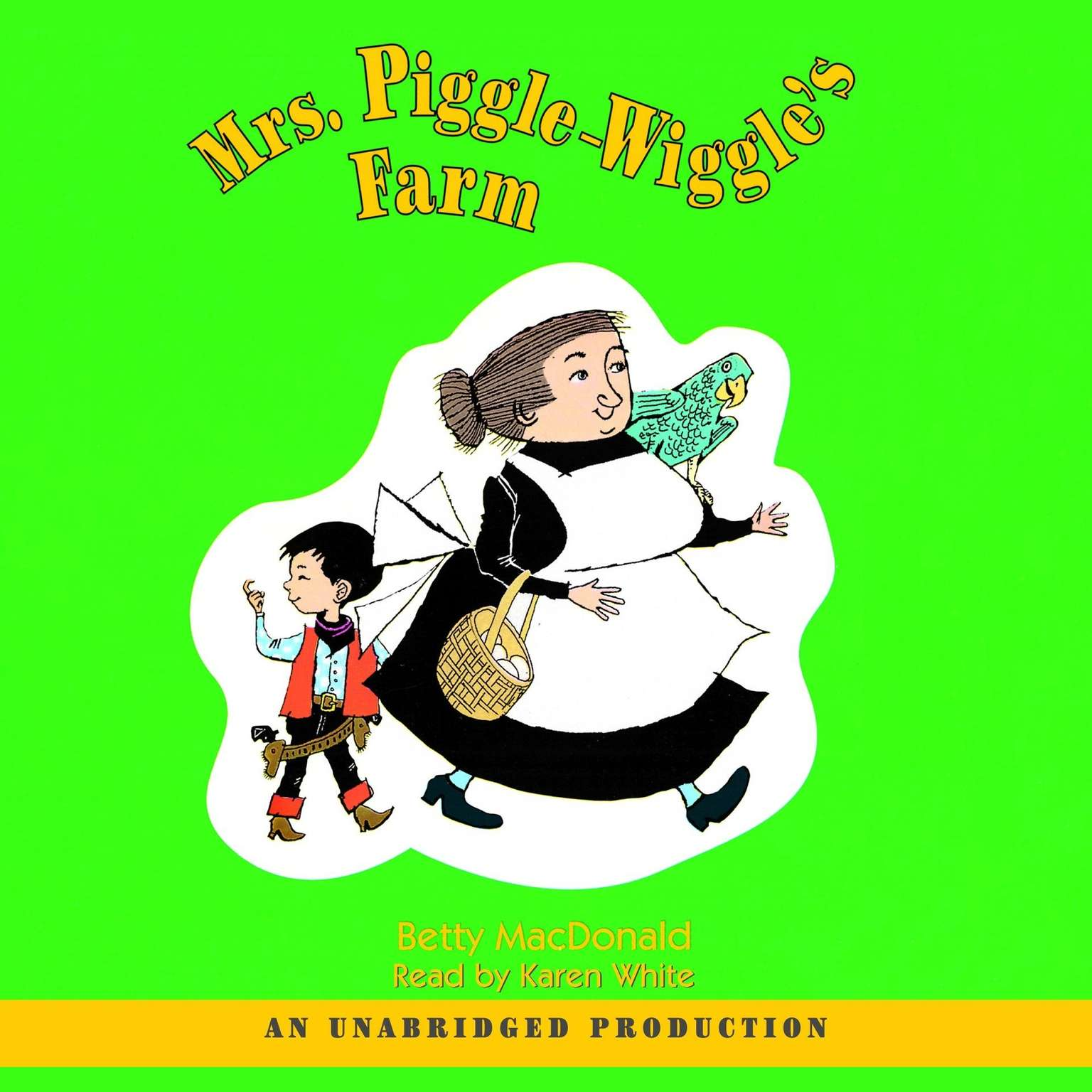 Printable Mrs. Piggle-Wiggle's Farm Audiobook Cover Art
