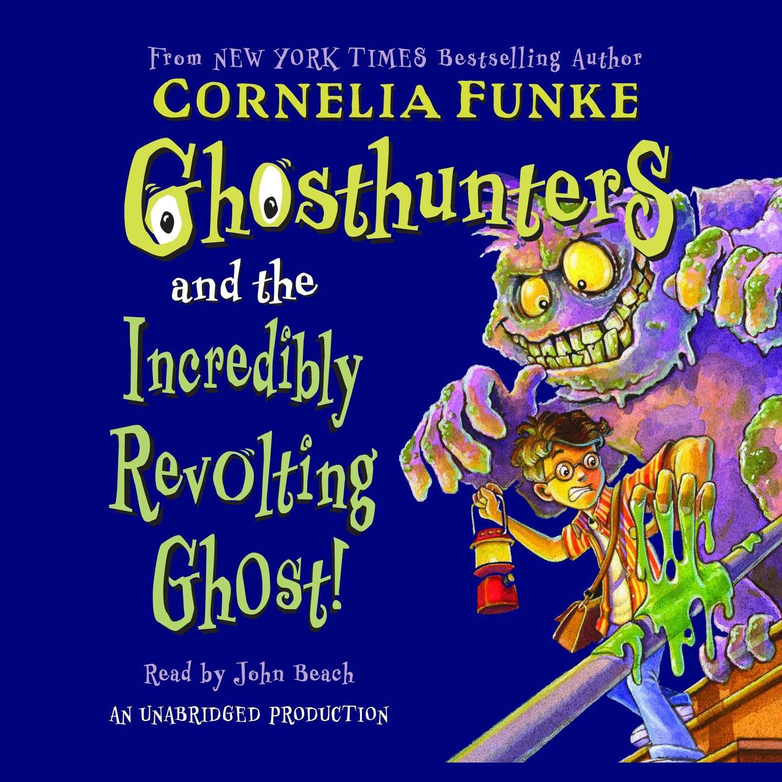 Printable Ghosthunters and the Incredibly Revolting Ghost Audiobook Cover Art
