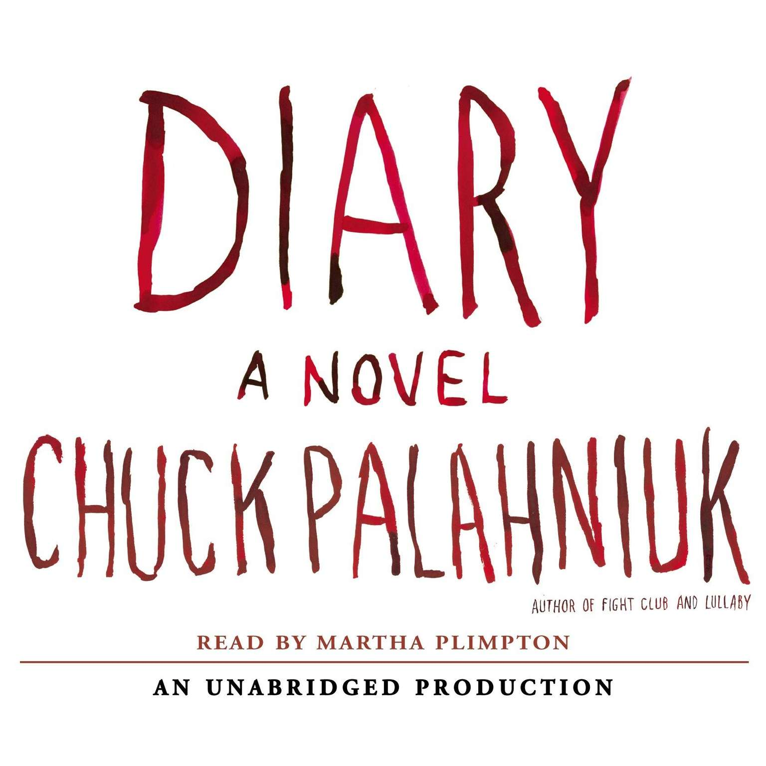 Printable Diary: A Novel Audiobook Cover Art