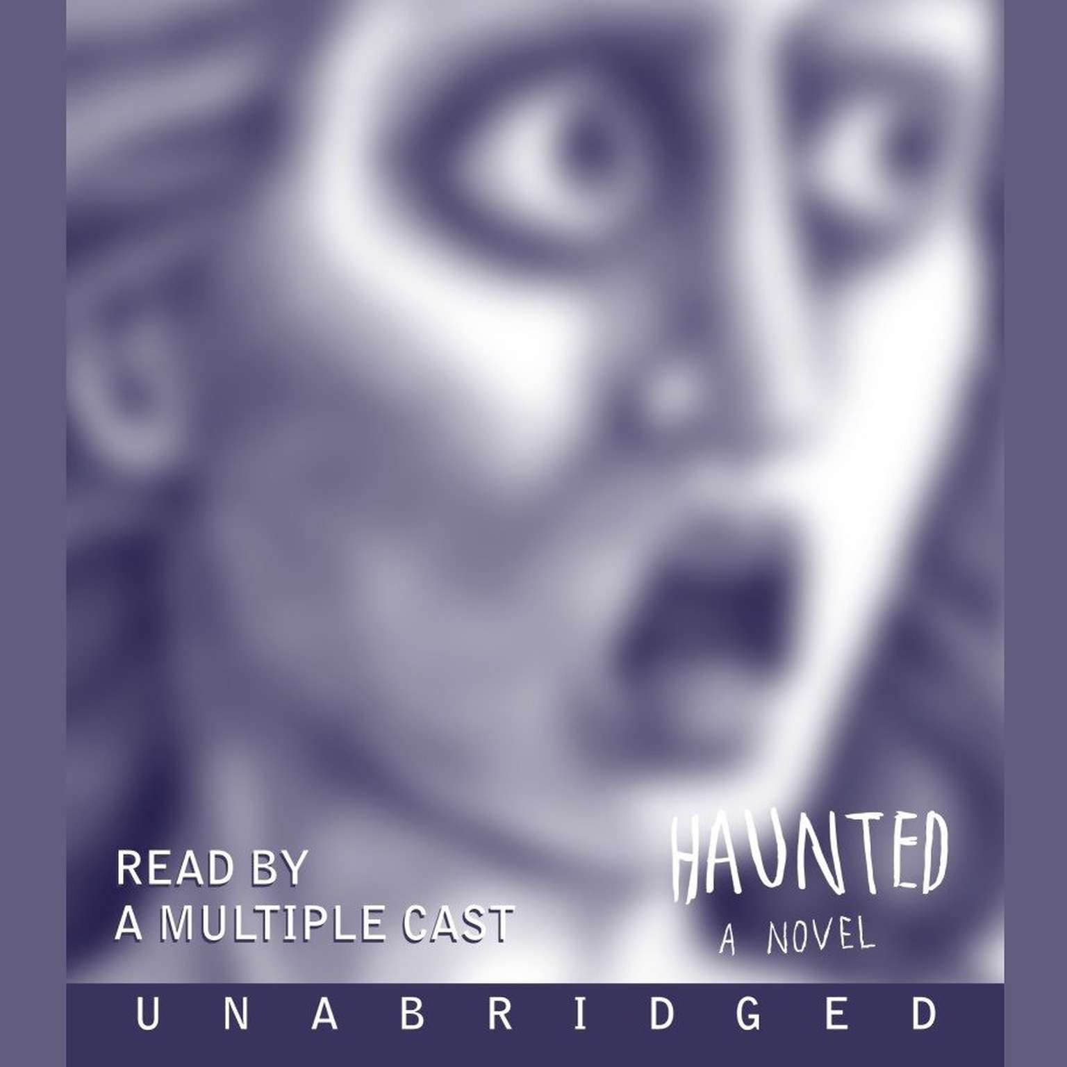 Printable Haunted: A Novel Audiobook Cover Art