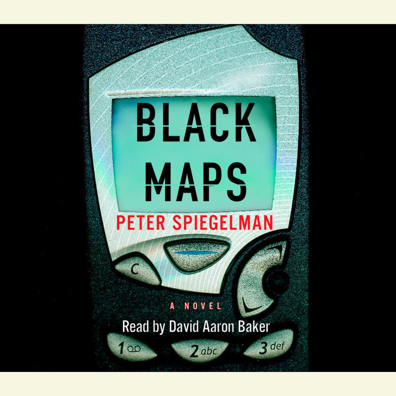Printable Black Maps Audiobook Cover Art
