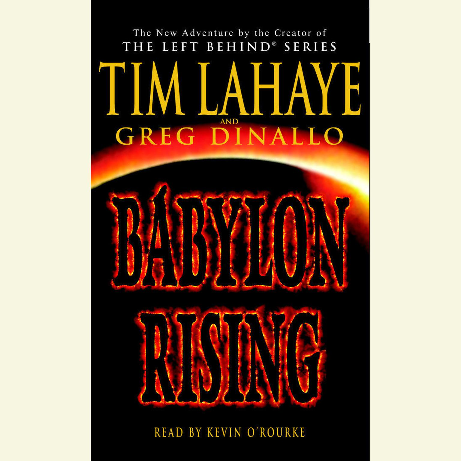 Printable Babylon Rising Audiobook Cover Art