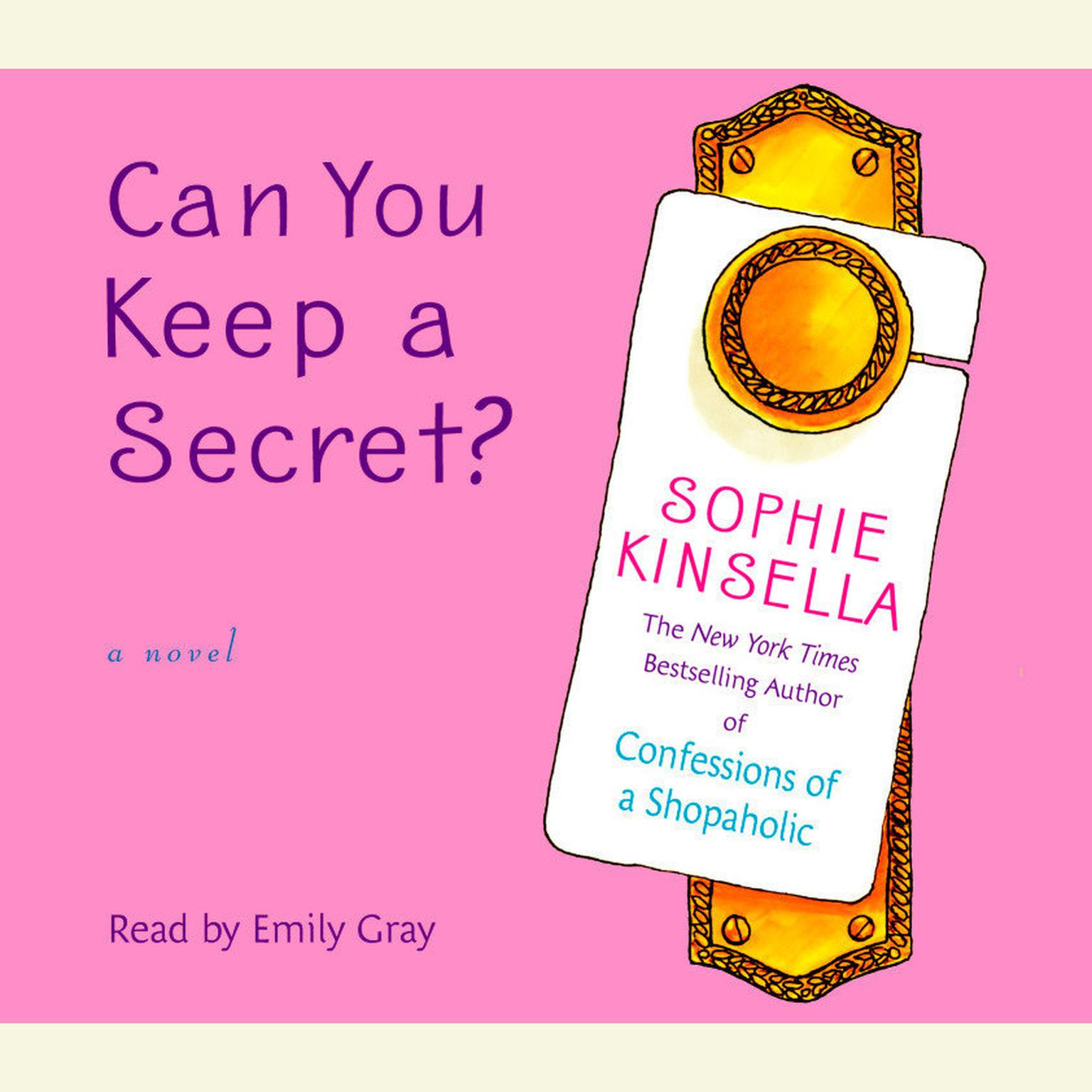 Printable Can You Keep a Secret? Audiobook Cover Art