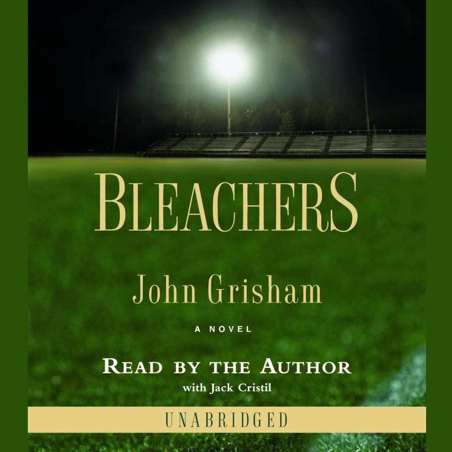 Printable Bleachers Audiobook Cover Art