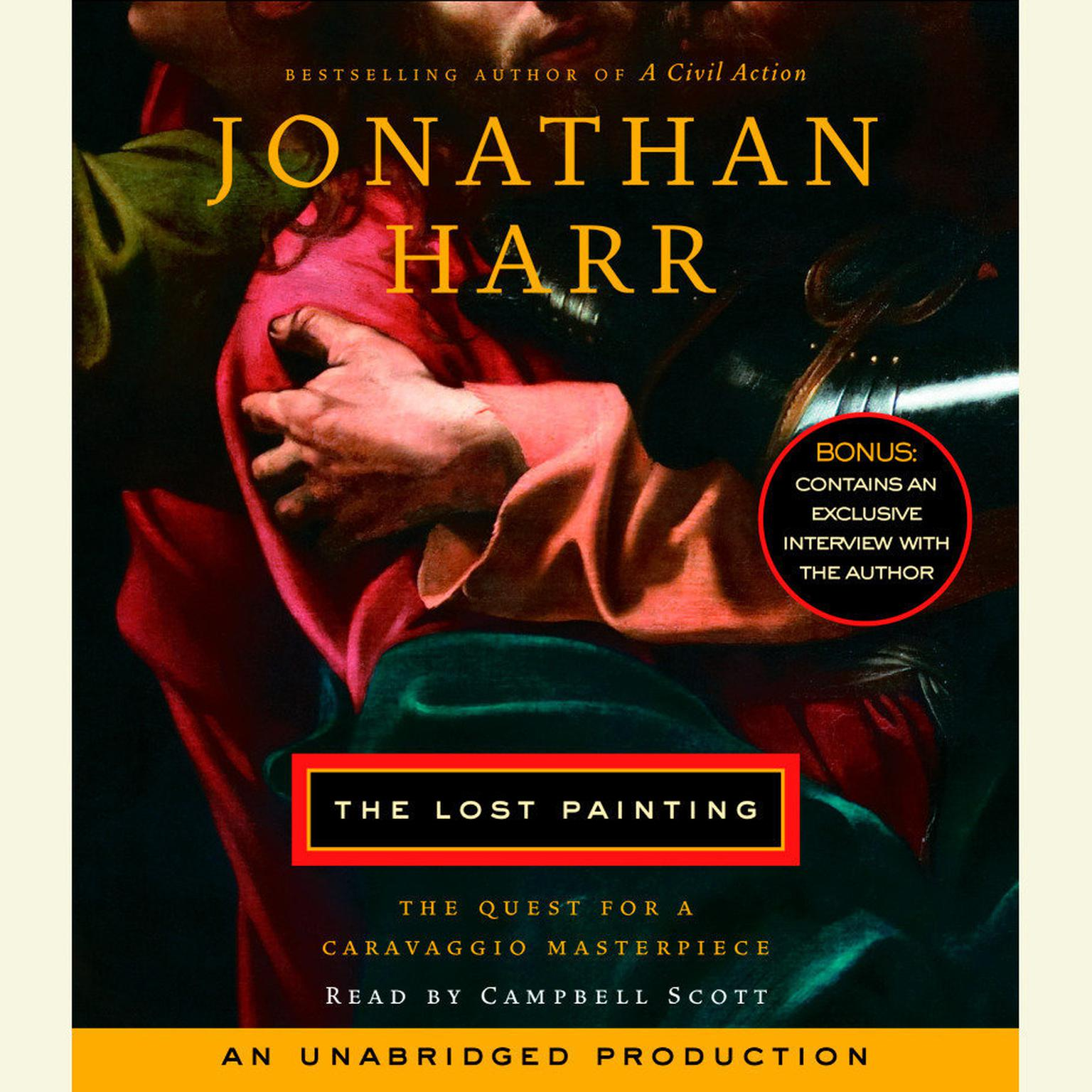 Printable The Lost Painting: The Quest for a Caravaggio Masterpiece Audiobook Cover Art