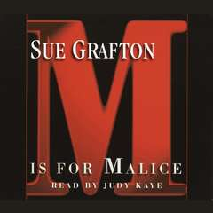 M Is For Malice Audiobook, by Sue Grafton