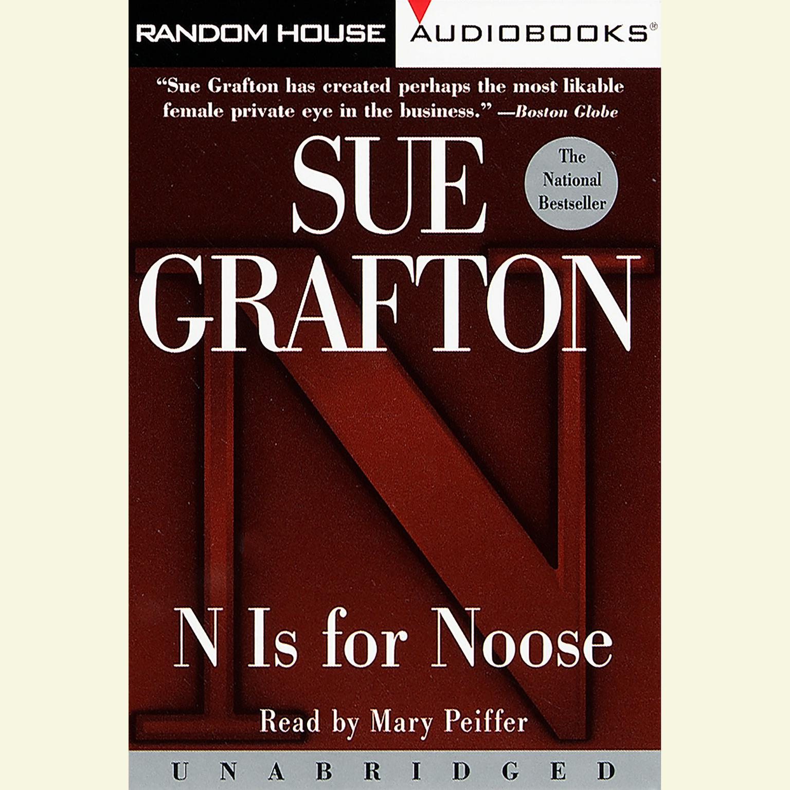 Printable N Is For Noose Audiobook Cover Art