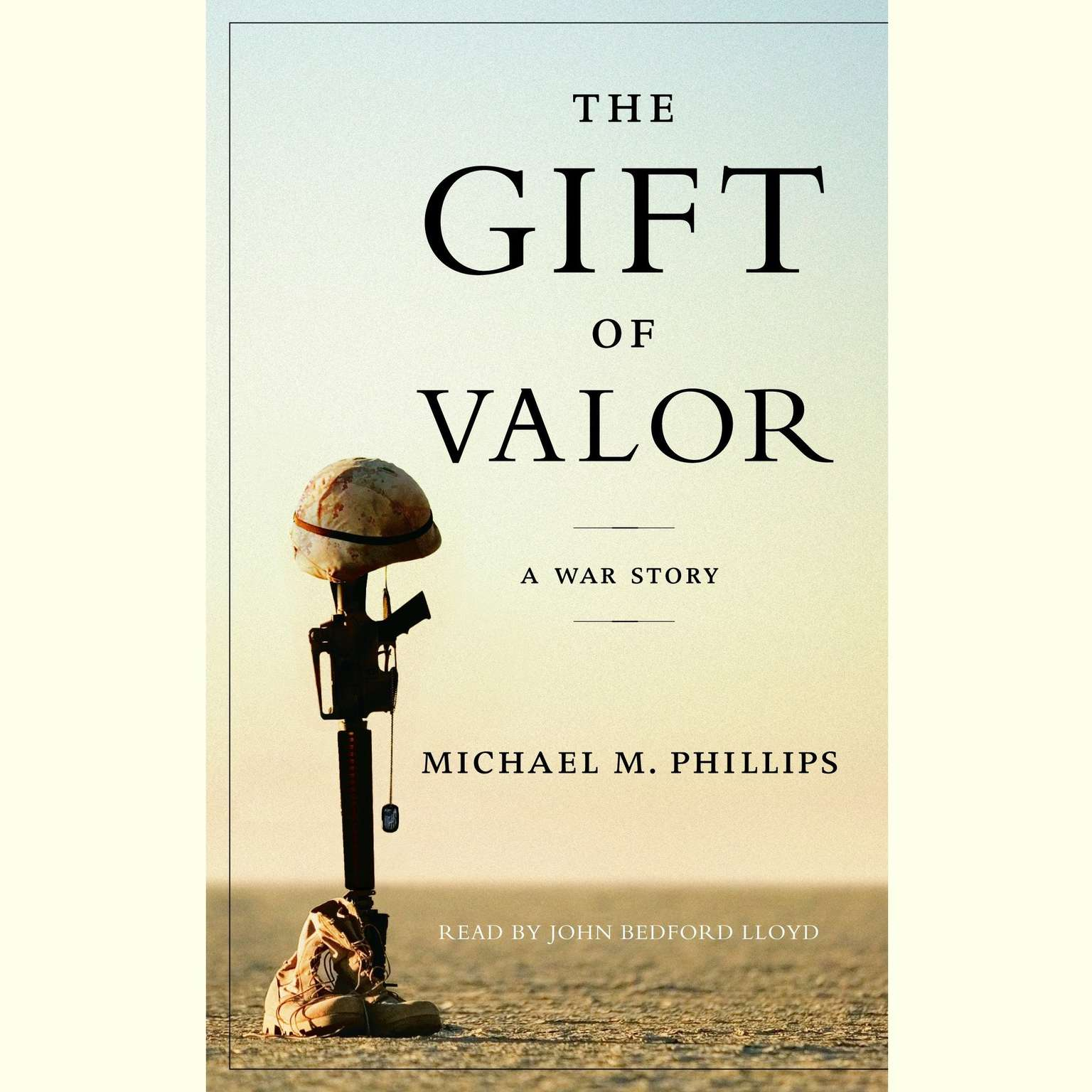 Printable The Gift of Valor Audiobook Cover Art