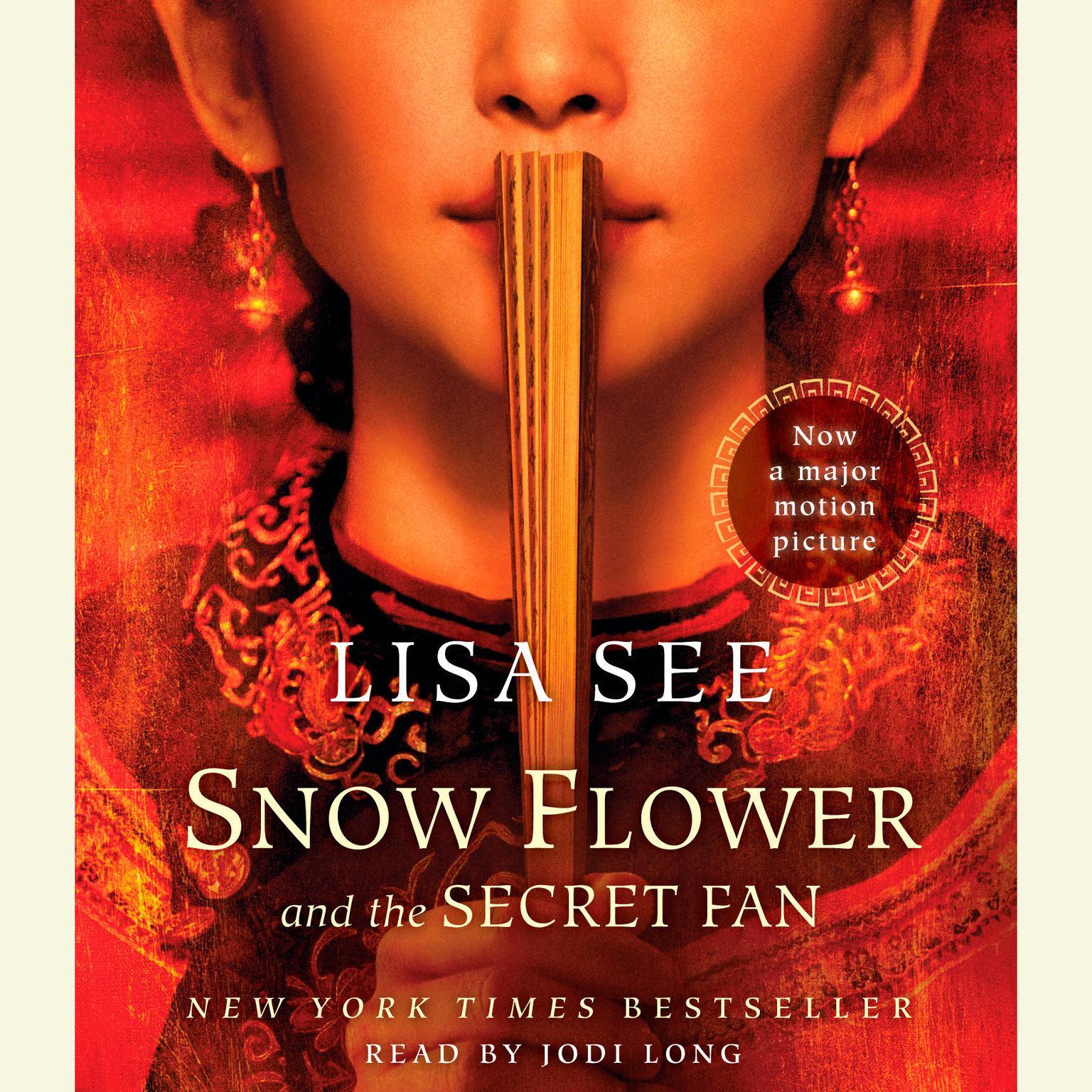 Printable Snow Flower and the Secret Fan: A Novel Audiobook Cover Art