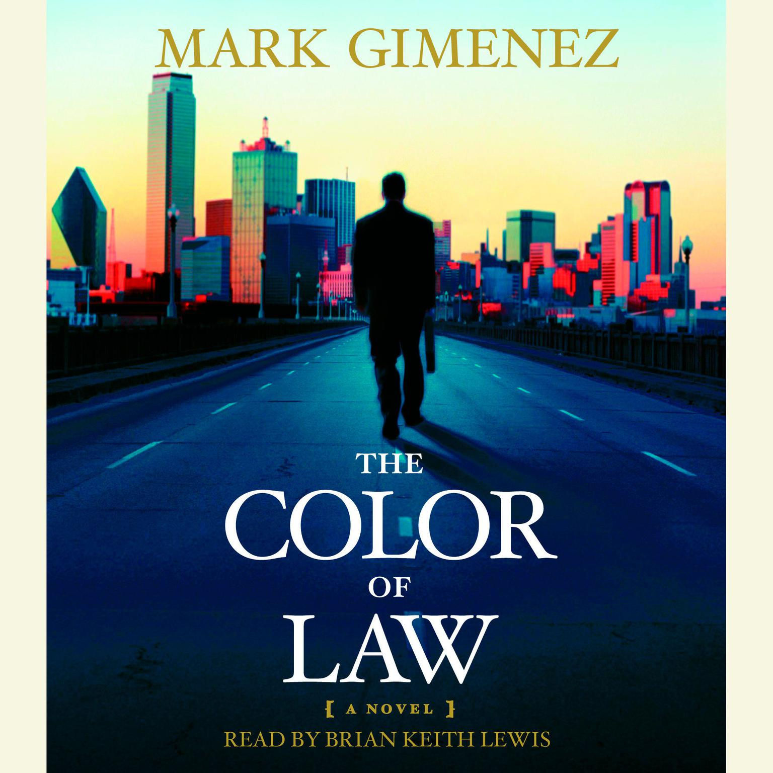 Printable The Color of Law Audiobook Cover Art