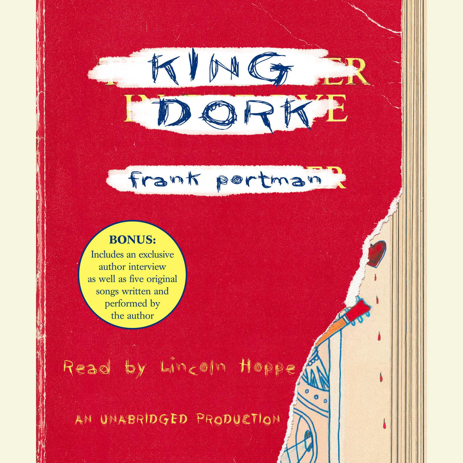 Printable King Dork Audiobook Cover Art