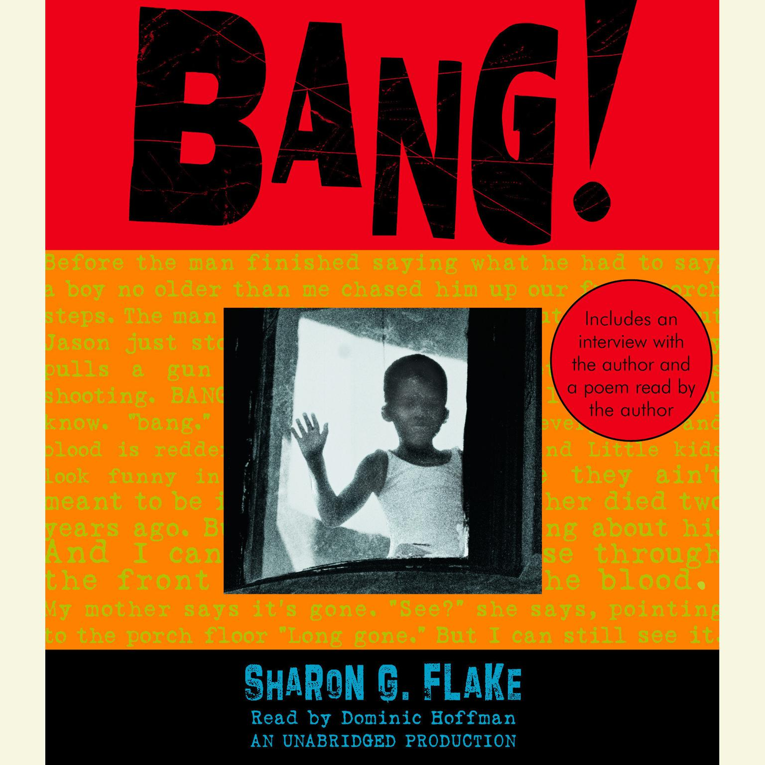 Printable Bang! Audiobook Cover Art