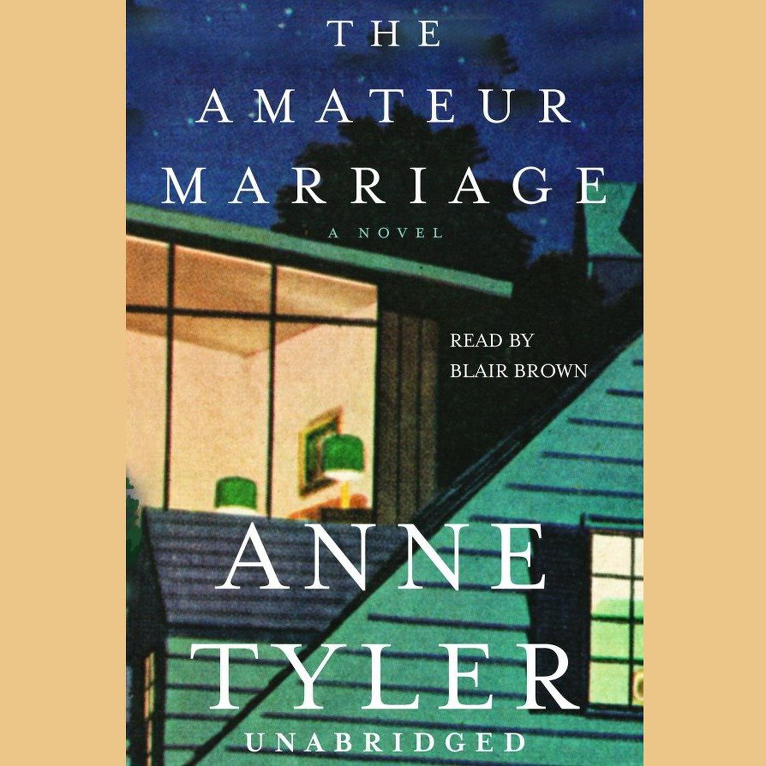 Printable The Amateur Marriage: A Novel Audiobook Cover Art