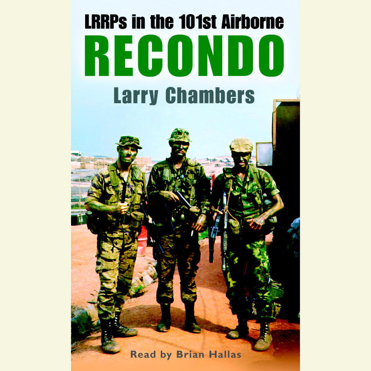 Printable Recondo: LRRPs in the 101st Airborne Audiobook Cover Art