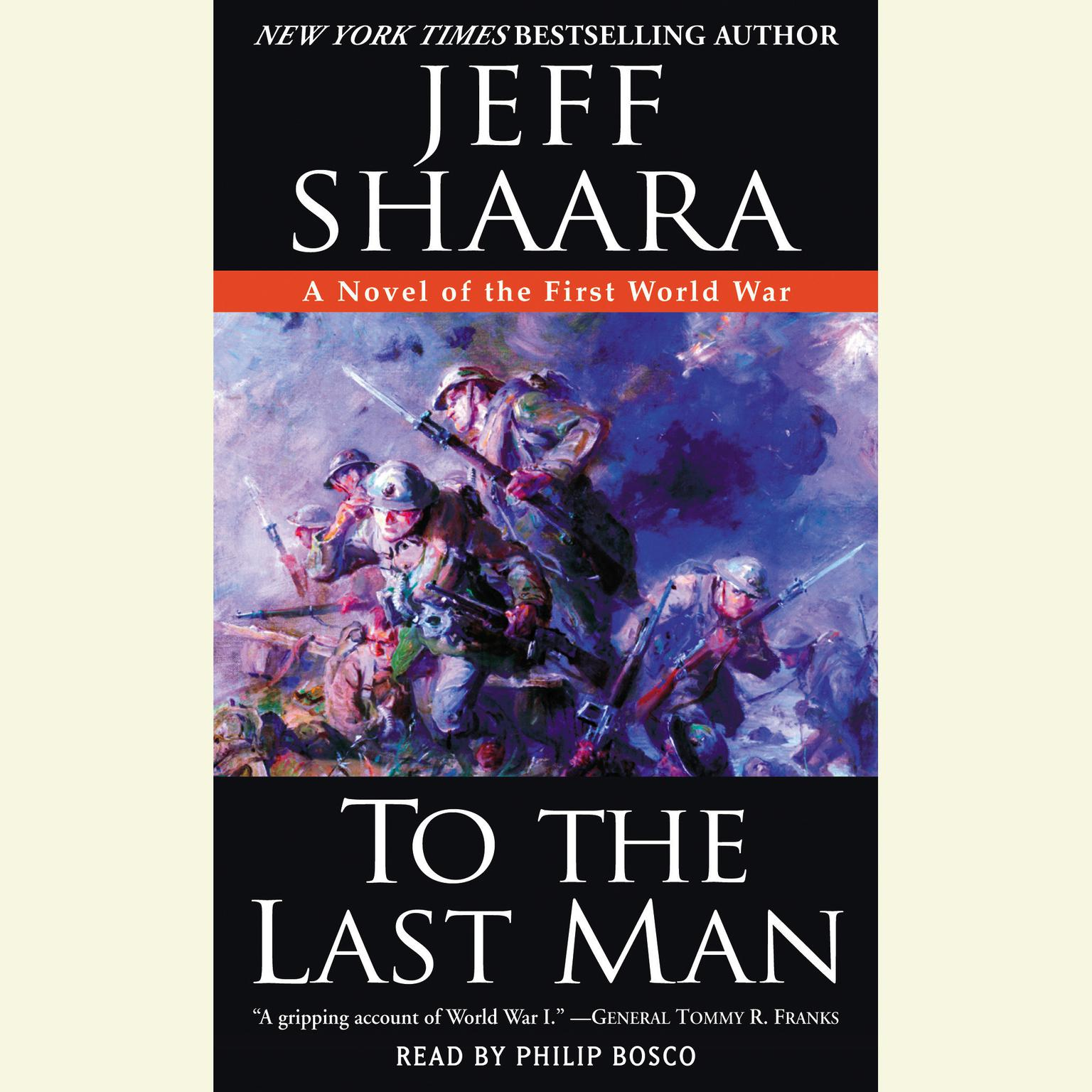 Printable To the Last Man: A Novel of the First World War Audiobook Cover Art