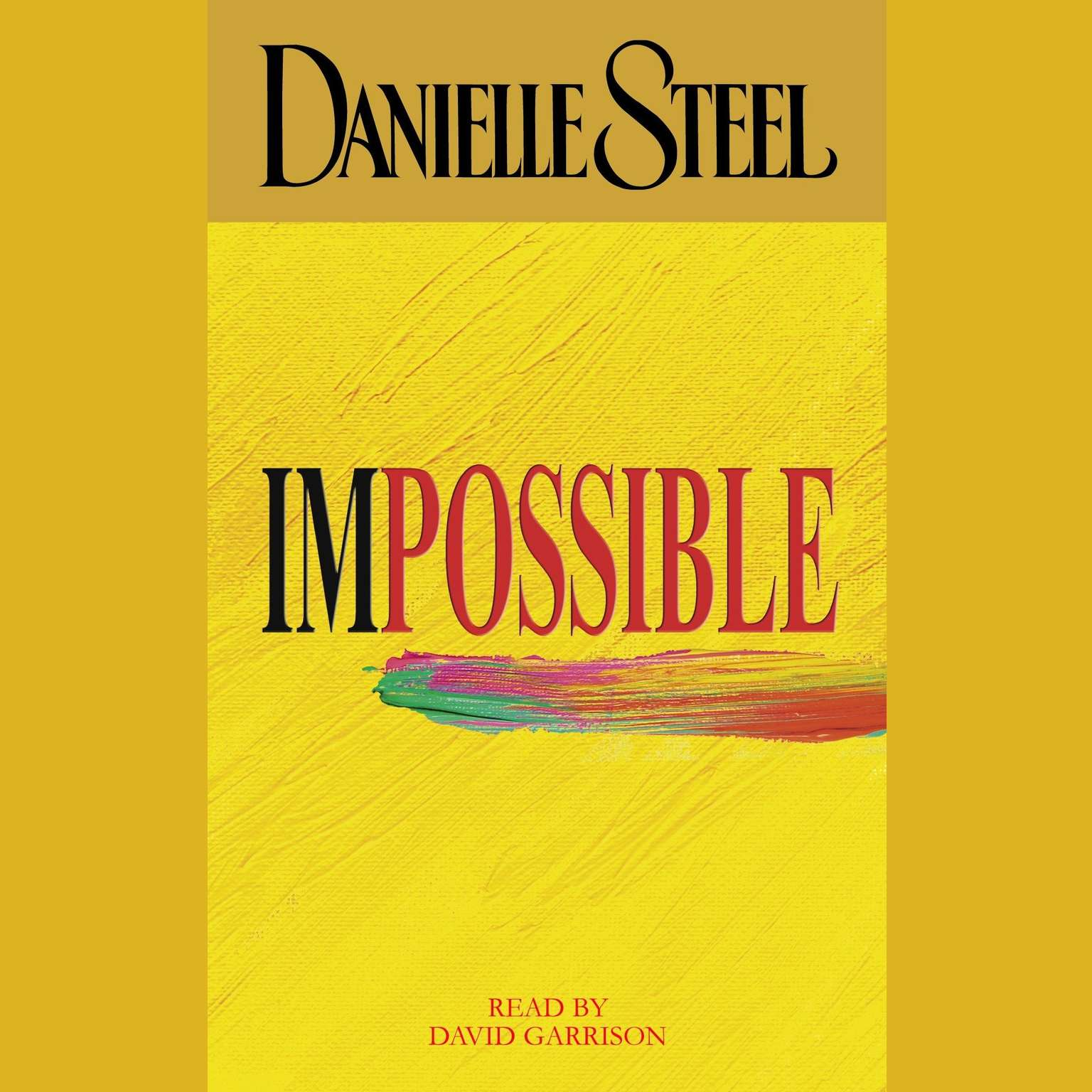 Printable Impossible Audiobook Cover Art