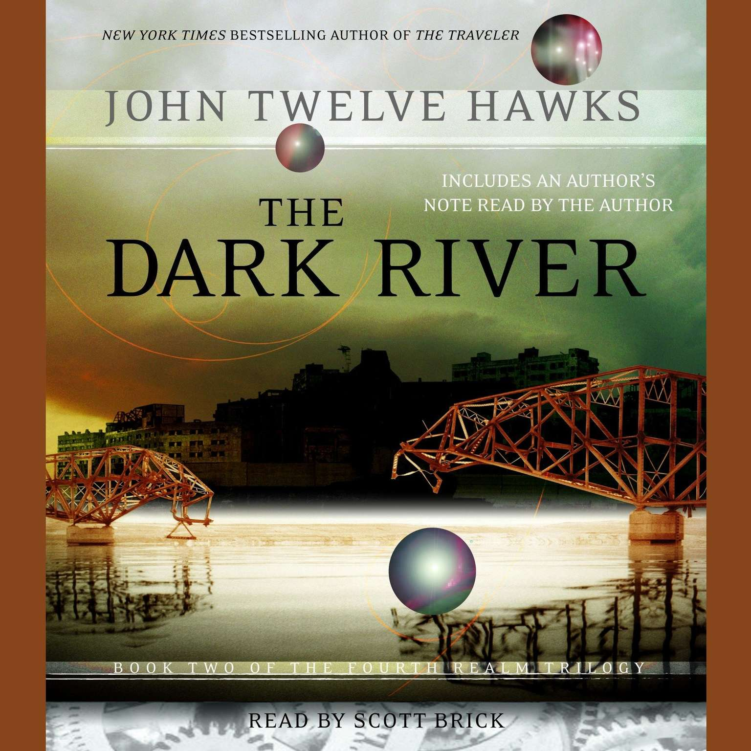 Printable The Dark River: Book Two of the Fourth Realm Trilogy Audiobook Cover Art