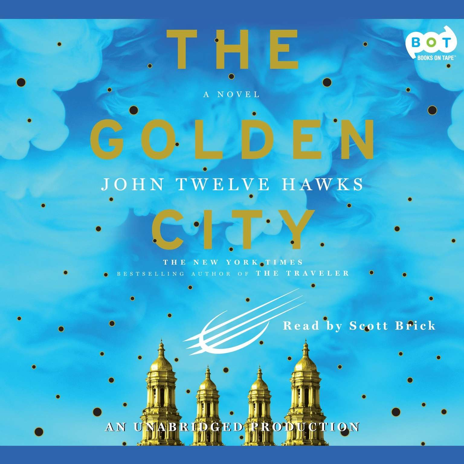 Printable The Golden City Audiobook Cover Art