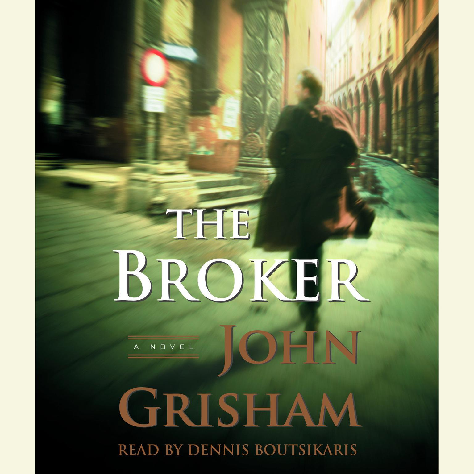 Printable The Broker Audiobook Cover Art