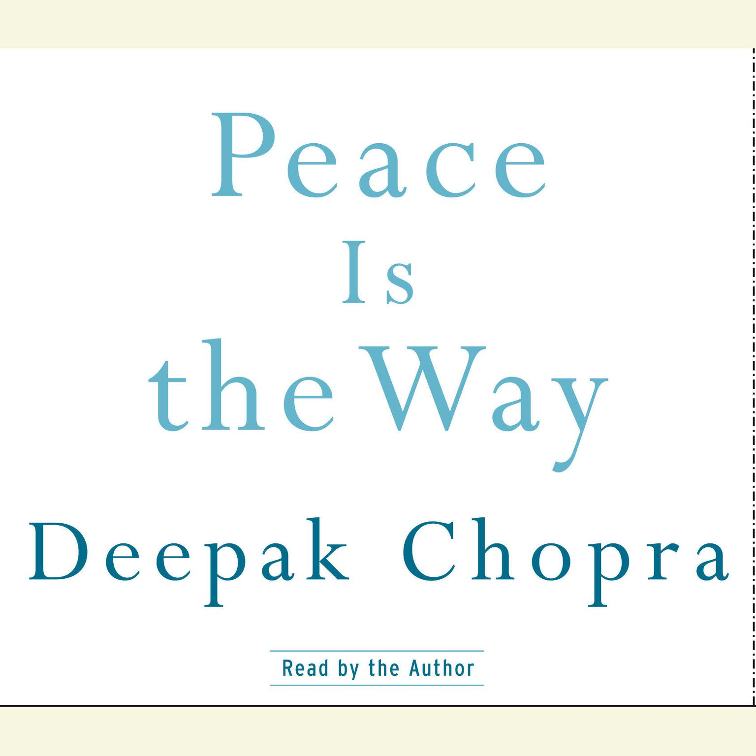 Printable Peace Is the Way: Bringing War and Violence to an End Audiobook Cover Art