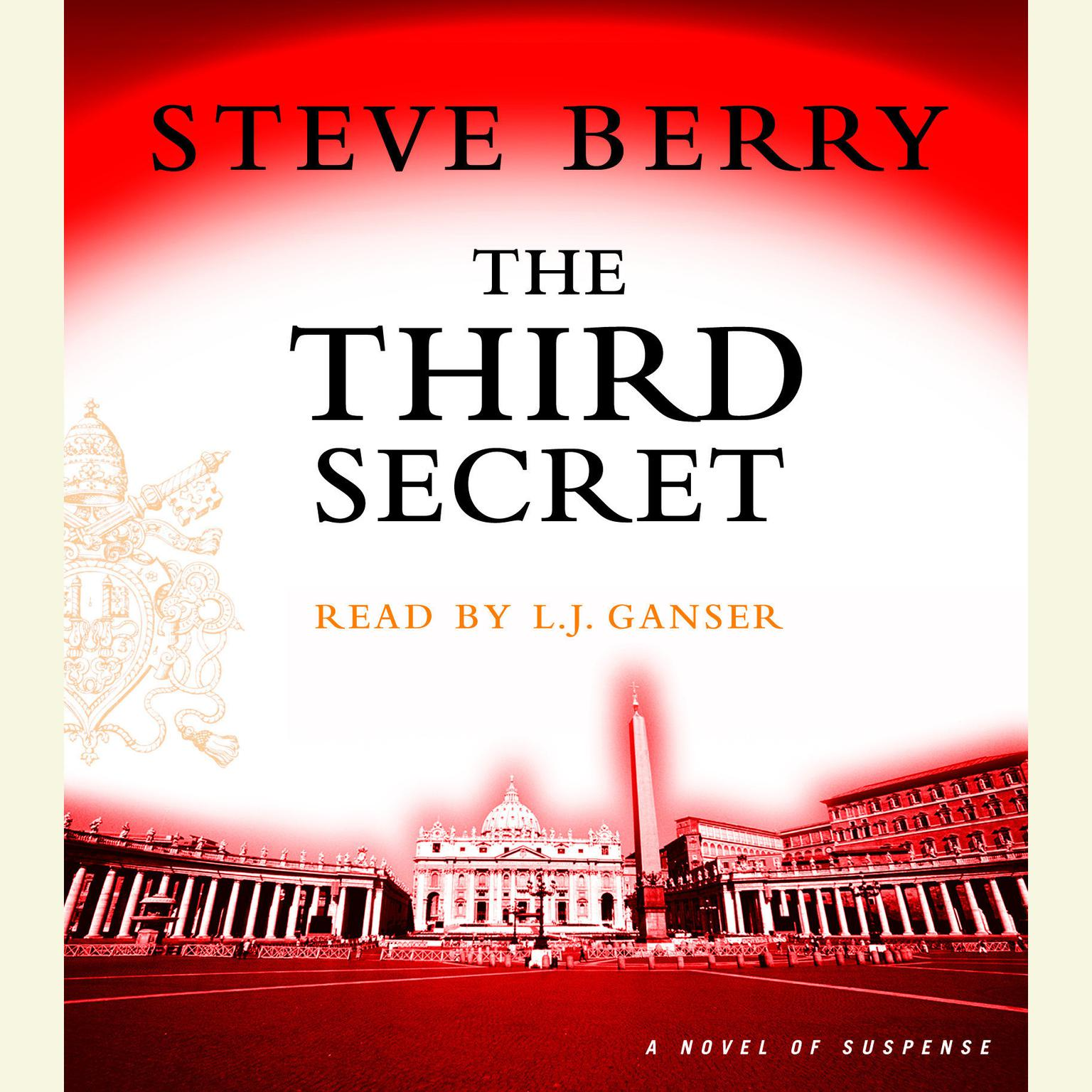 Printable The Third Secret: A Novel of Suspense Audiobook Cover Art