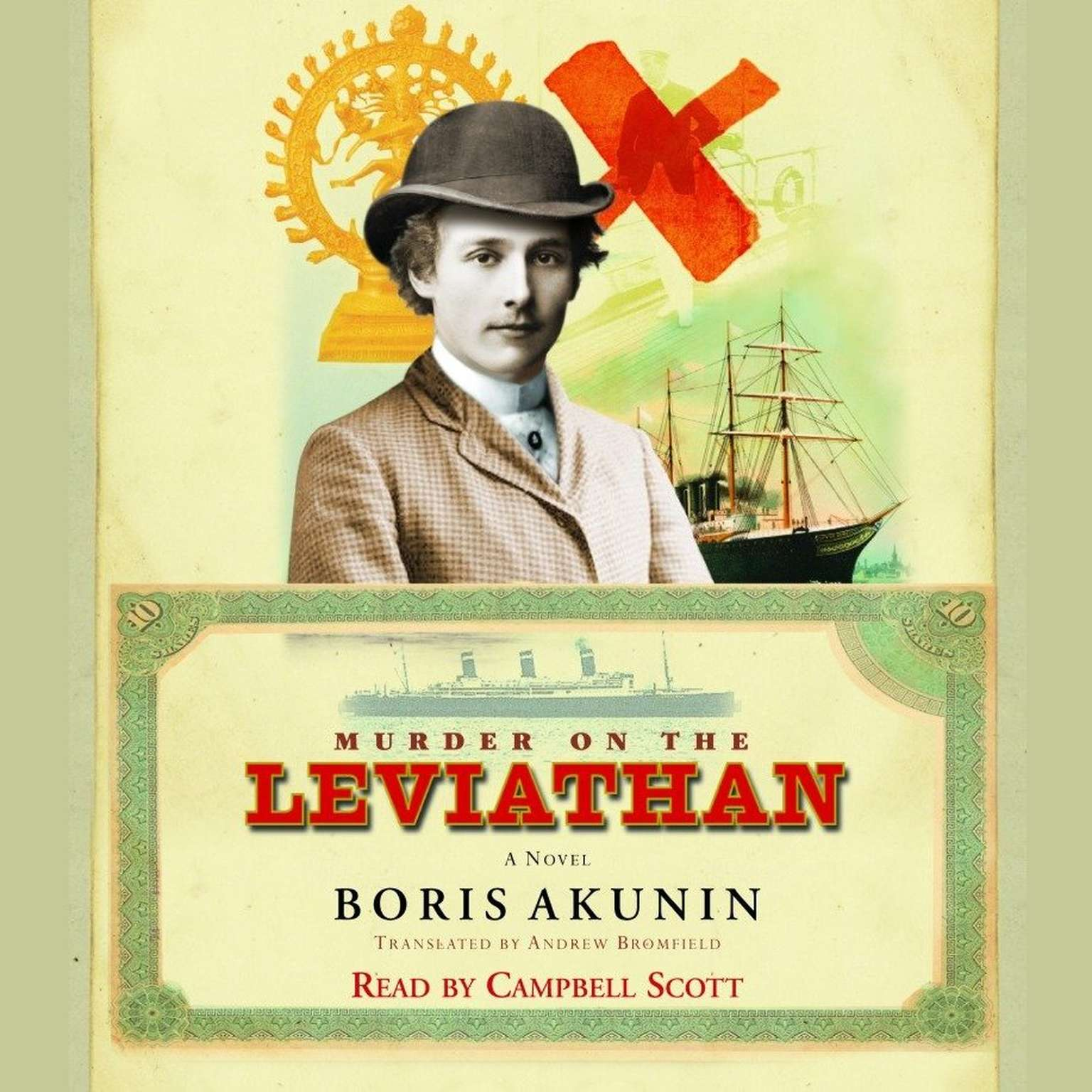 Printable Murder on the Leviathan: A Novel Audiobook Cover Art