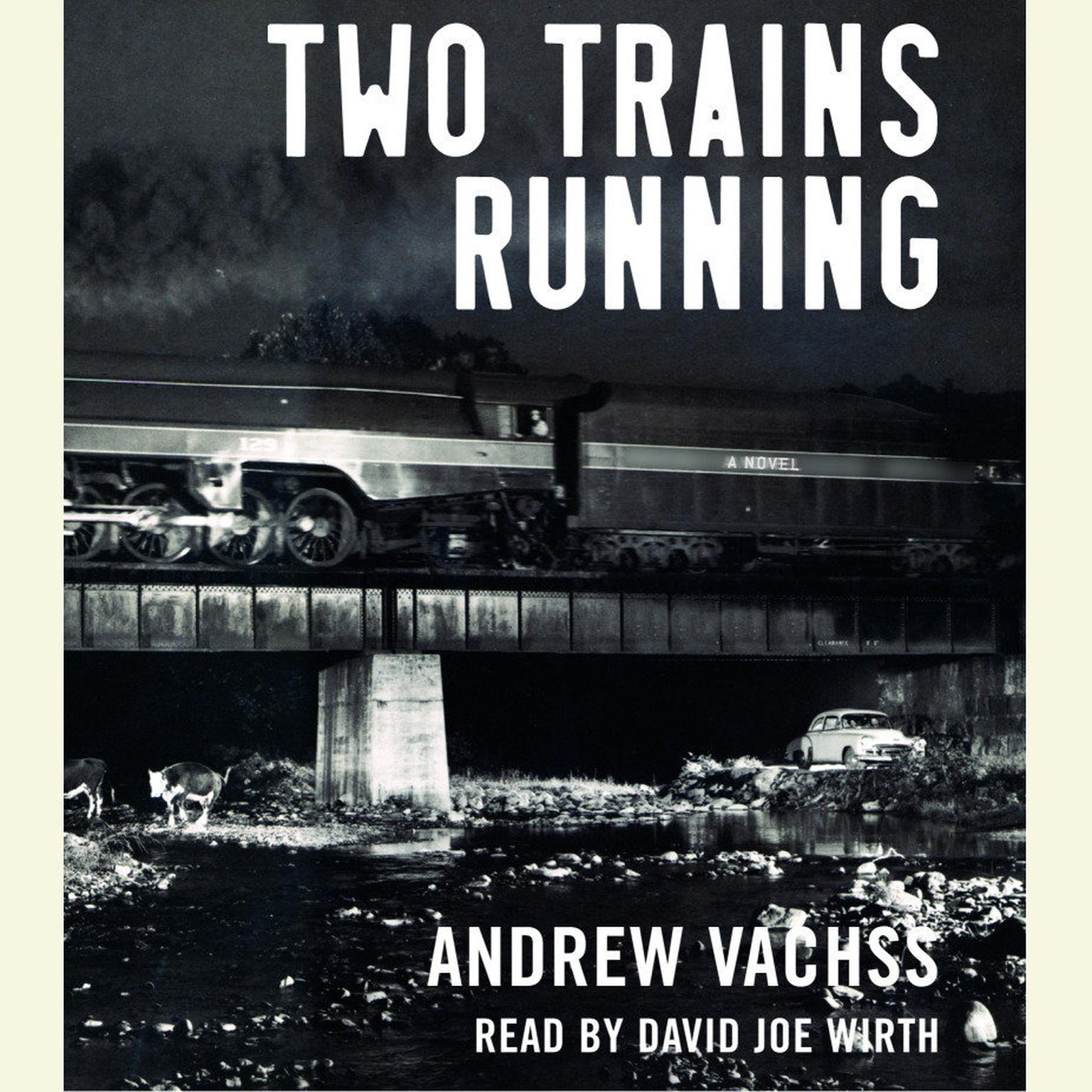 Printable Two Trains Running: A Novel Audiobook Cover Art
