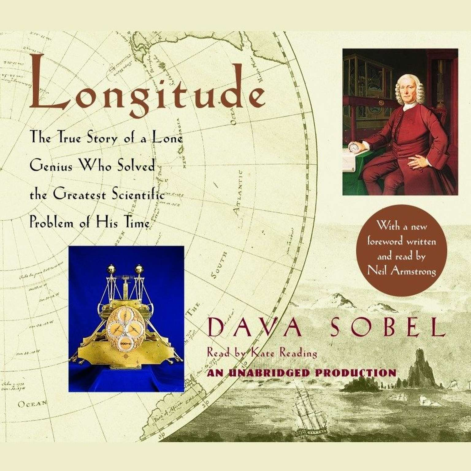 Printable Longitude: The True Story of a Lone Genius Who Solved the Greatest Scientific Problem of His Time Audiobook Cover Art