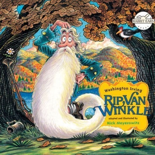 Printable Rip Van Winkle Audiobook Cover Art