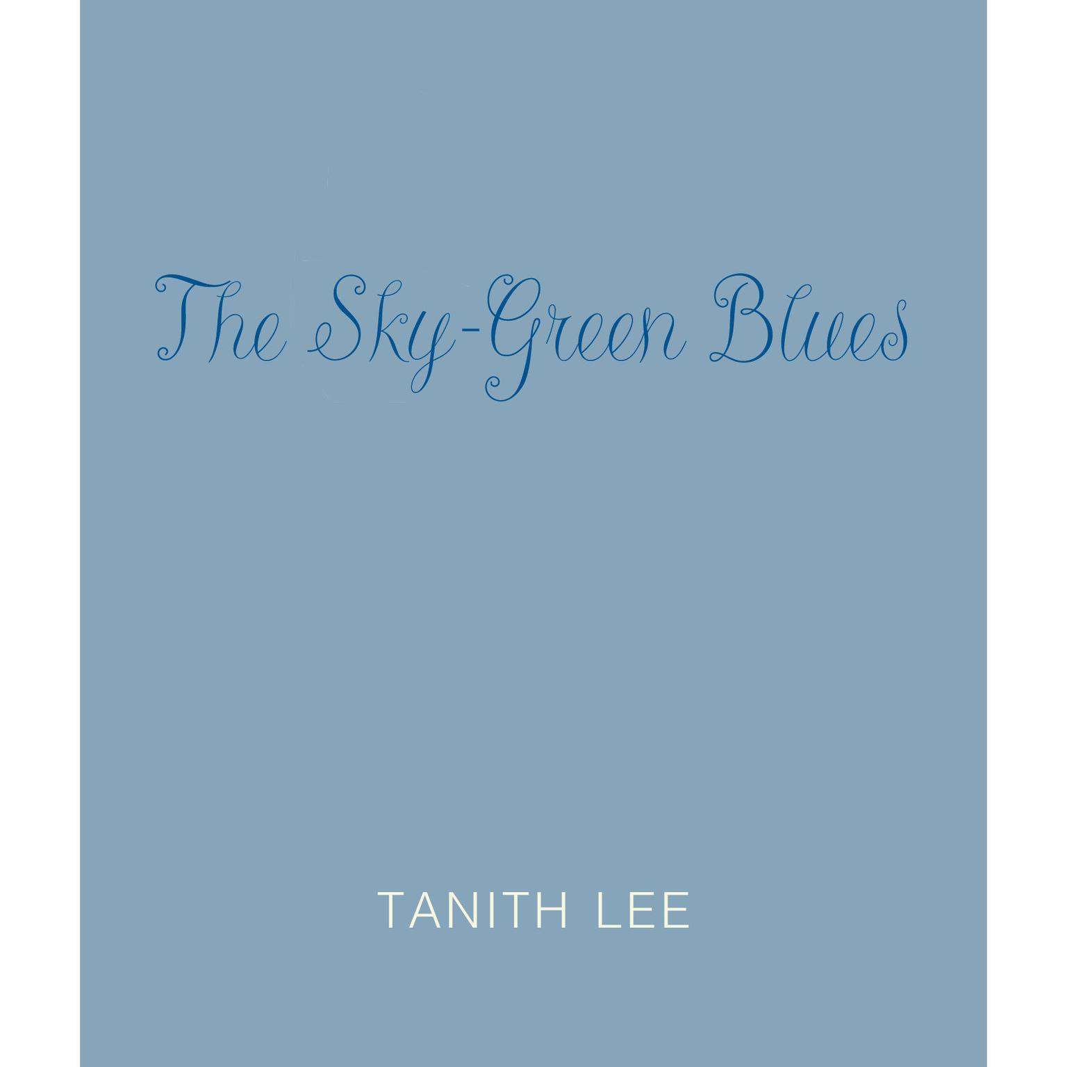 Printable The Green Sky Blues Audiobook Cover Art