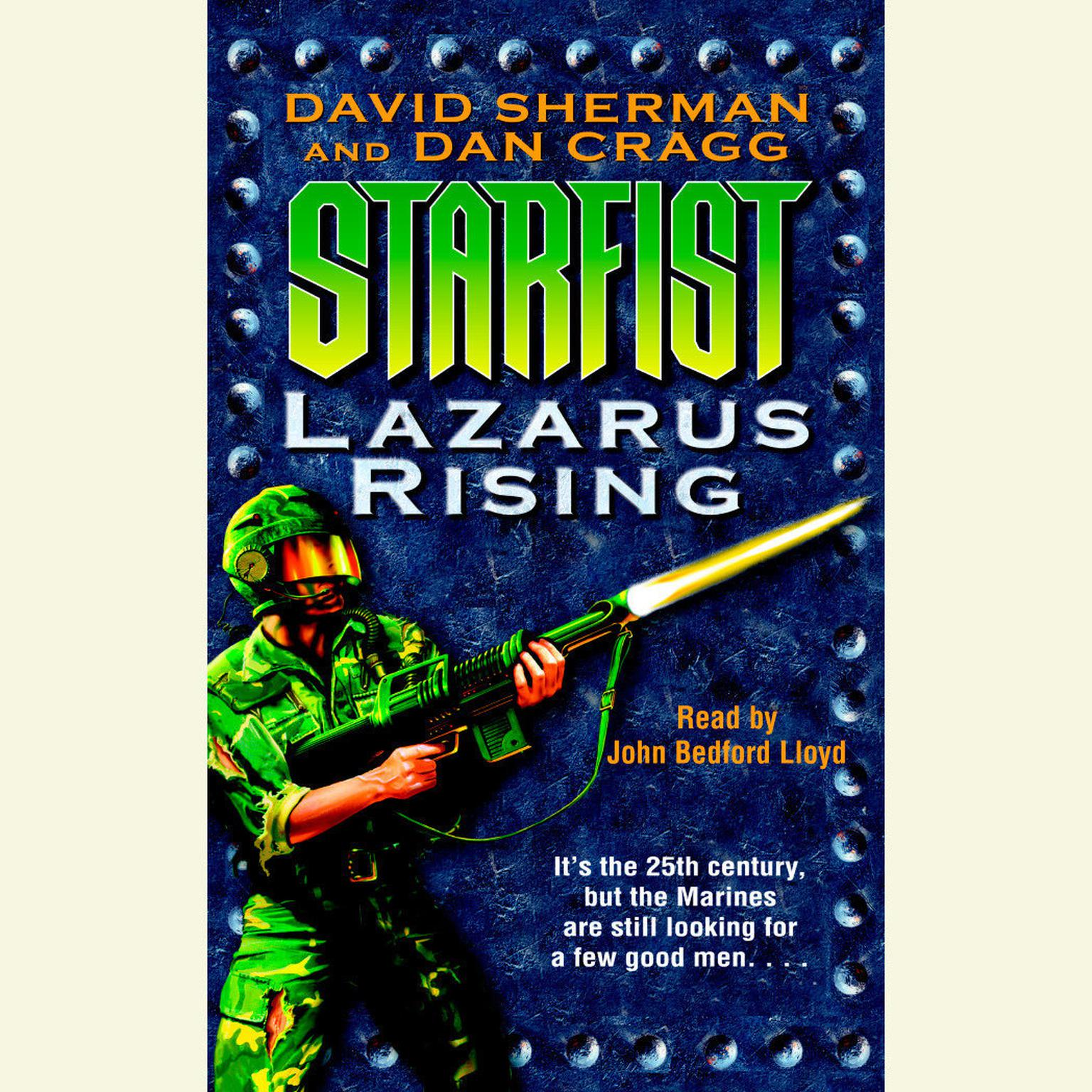 Printable Starfist: Lazarus Rising Audiobook Cover Art