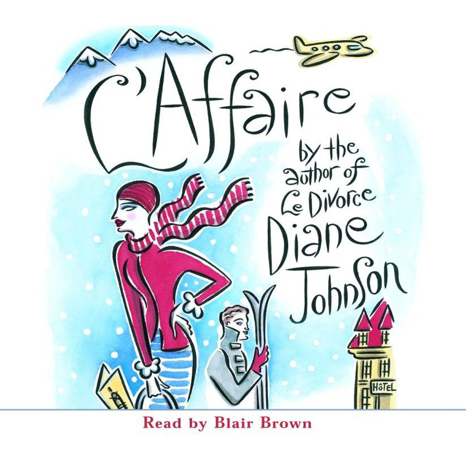 Printable L'Affaire Audiobook Cover Art
