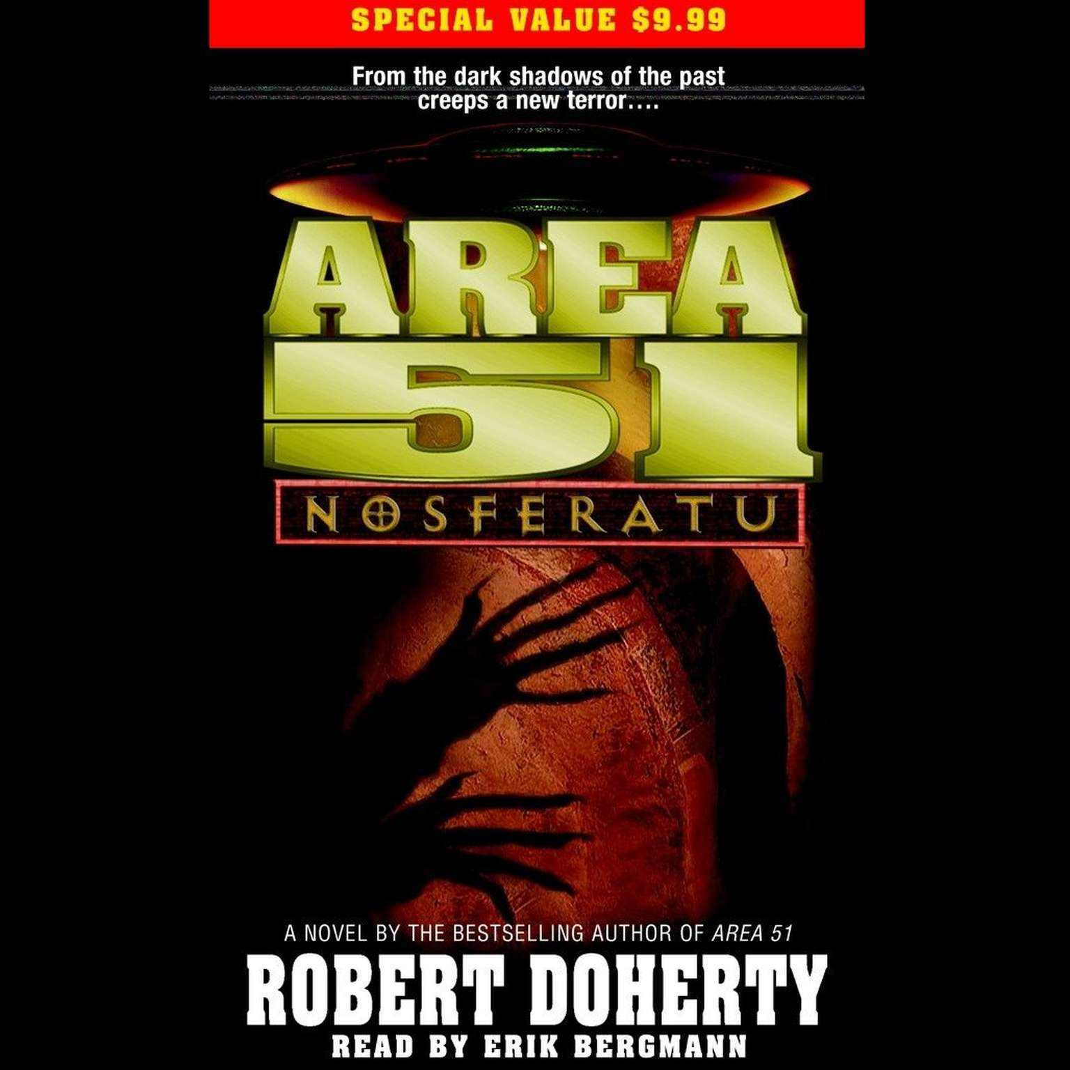 Printable Area 51: Nosferatu Audiobook Cover Art