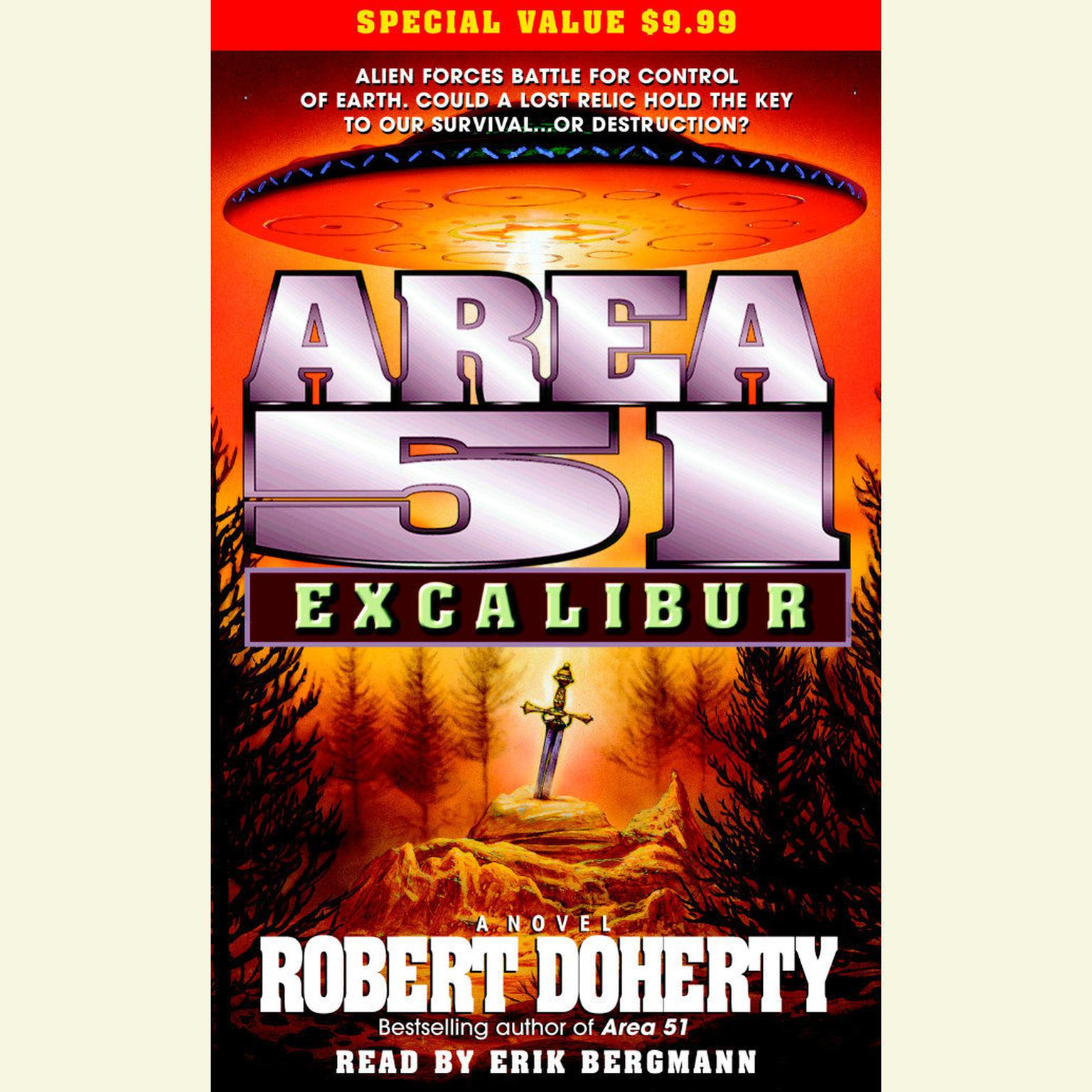 Printable Area 51: Excalibur Audiobook Cover Art