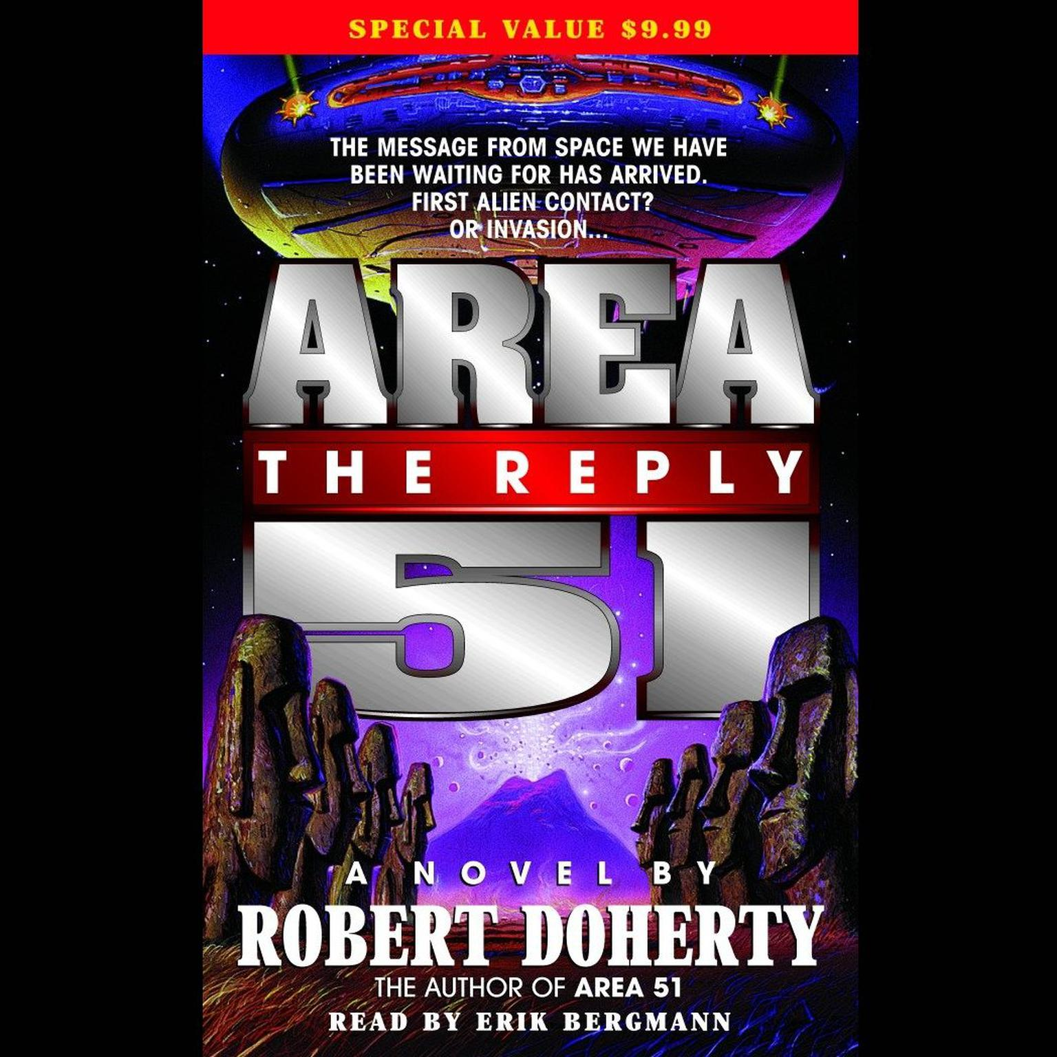 Printable Area 51: The Reply Audiobook Cover Art