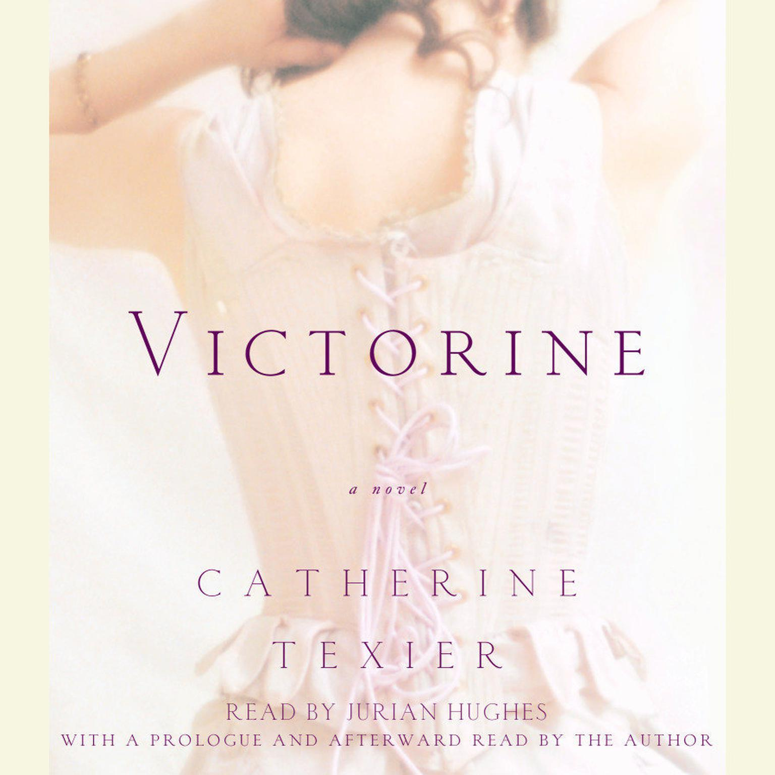Printable Victorine Audiobook Cover Art