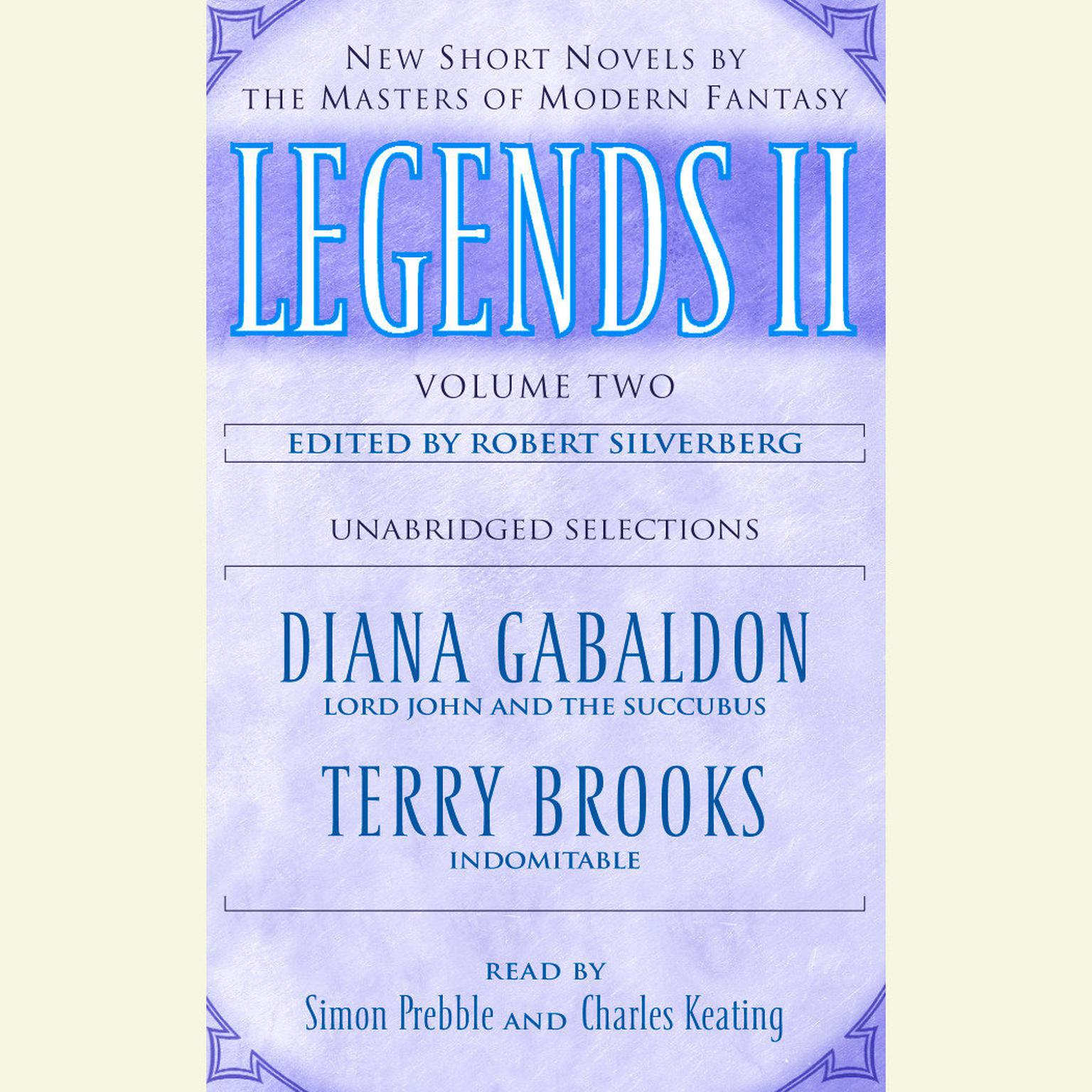 Printable Legends II, Vol. 2: New Short Novels by the Masters of Modern Fantasy Audiobook Cover Art