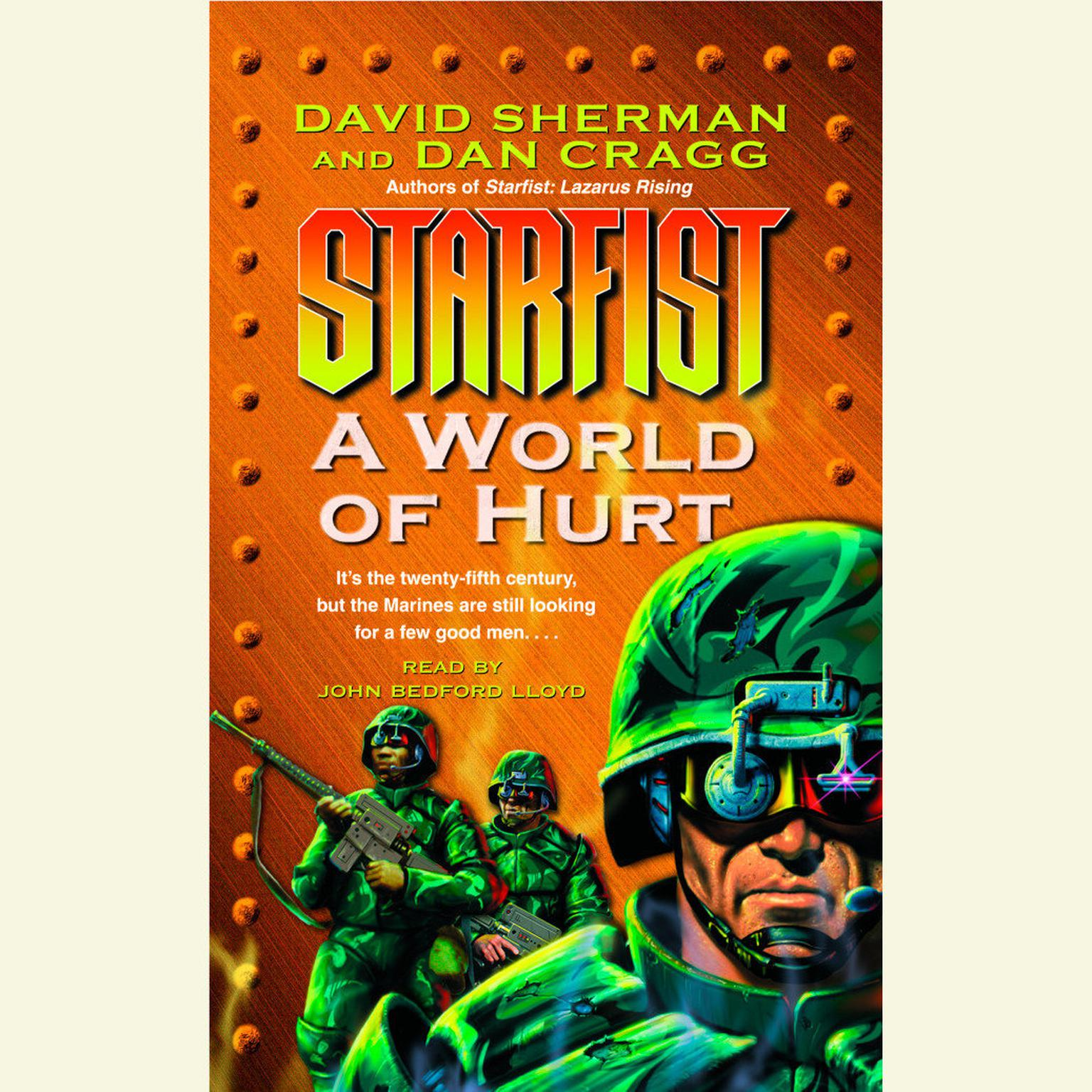 Printable StarFist: A World of Hurt Audiobook Cover Art