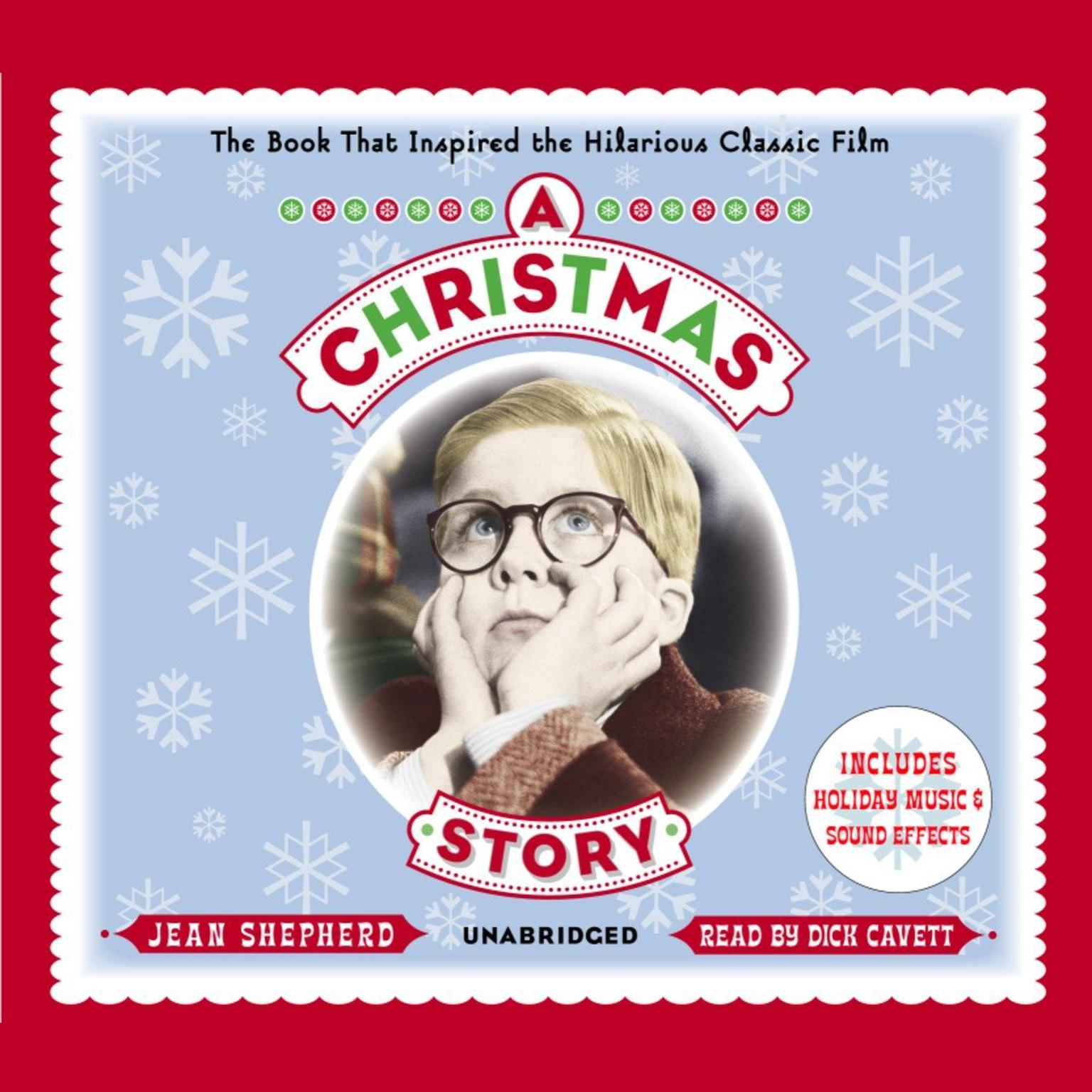 Printable A Christmas Story: The Book That Inspired the Hilarious Classic Film Audiobook Cover Art