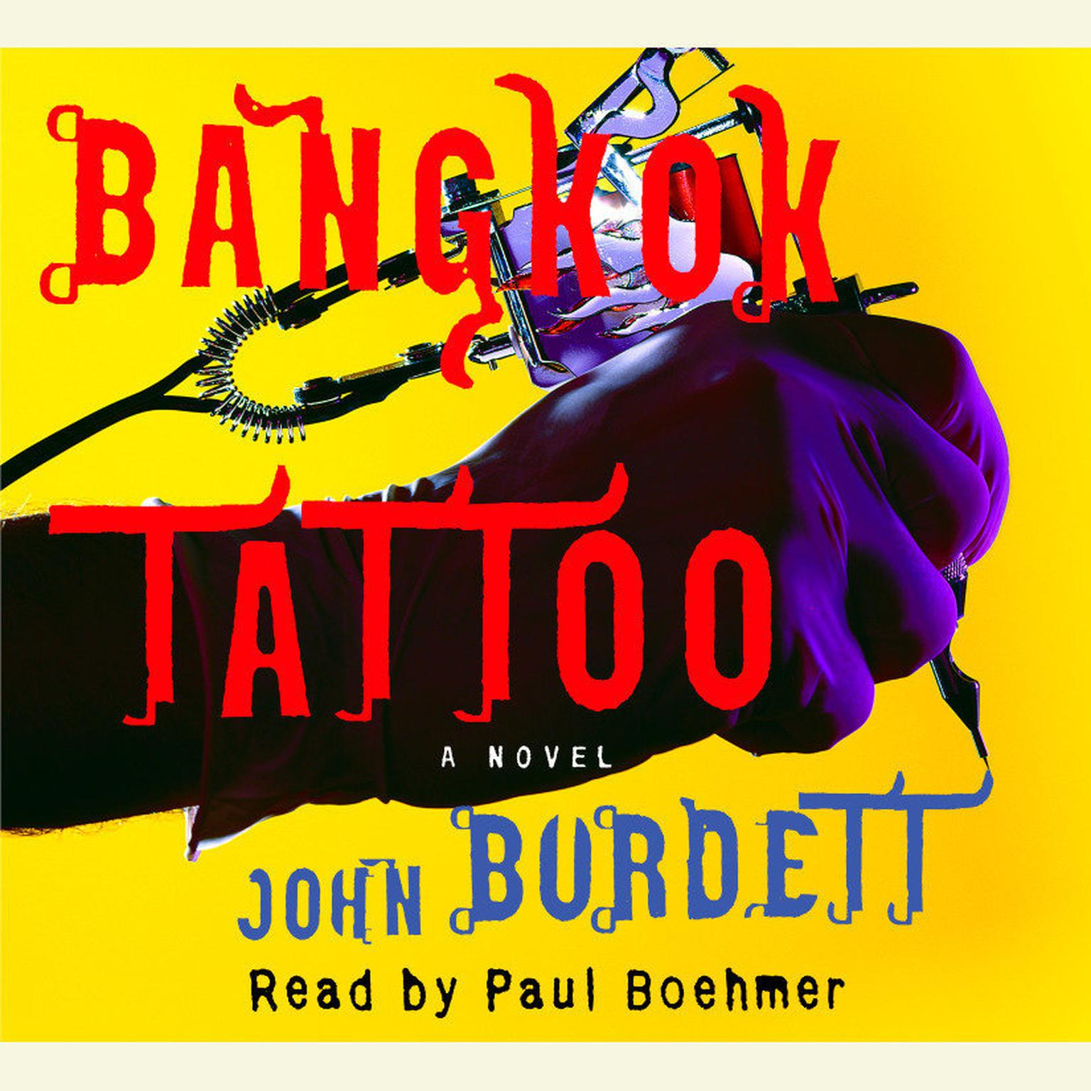 Printable Bangkok Tattoo Audiobook Cover Art