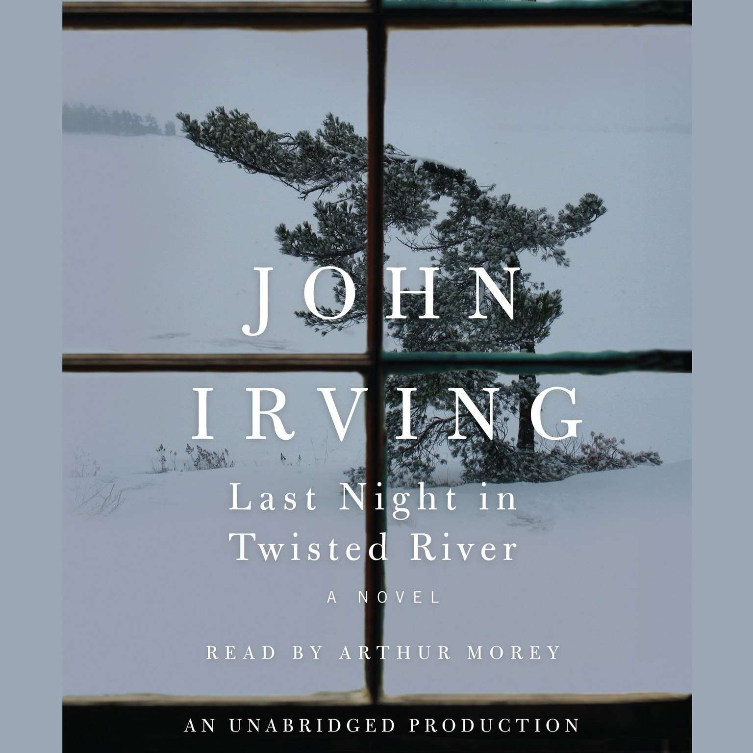 Printable Last Night in Twisted River: A Novel Audiobook Cover Art
