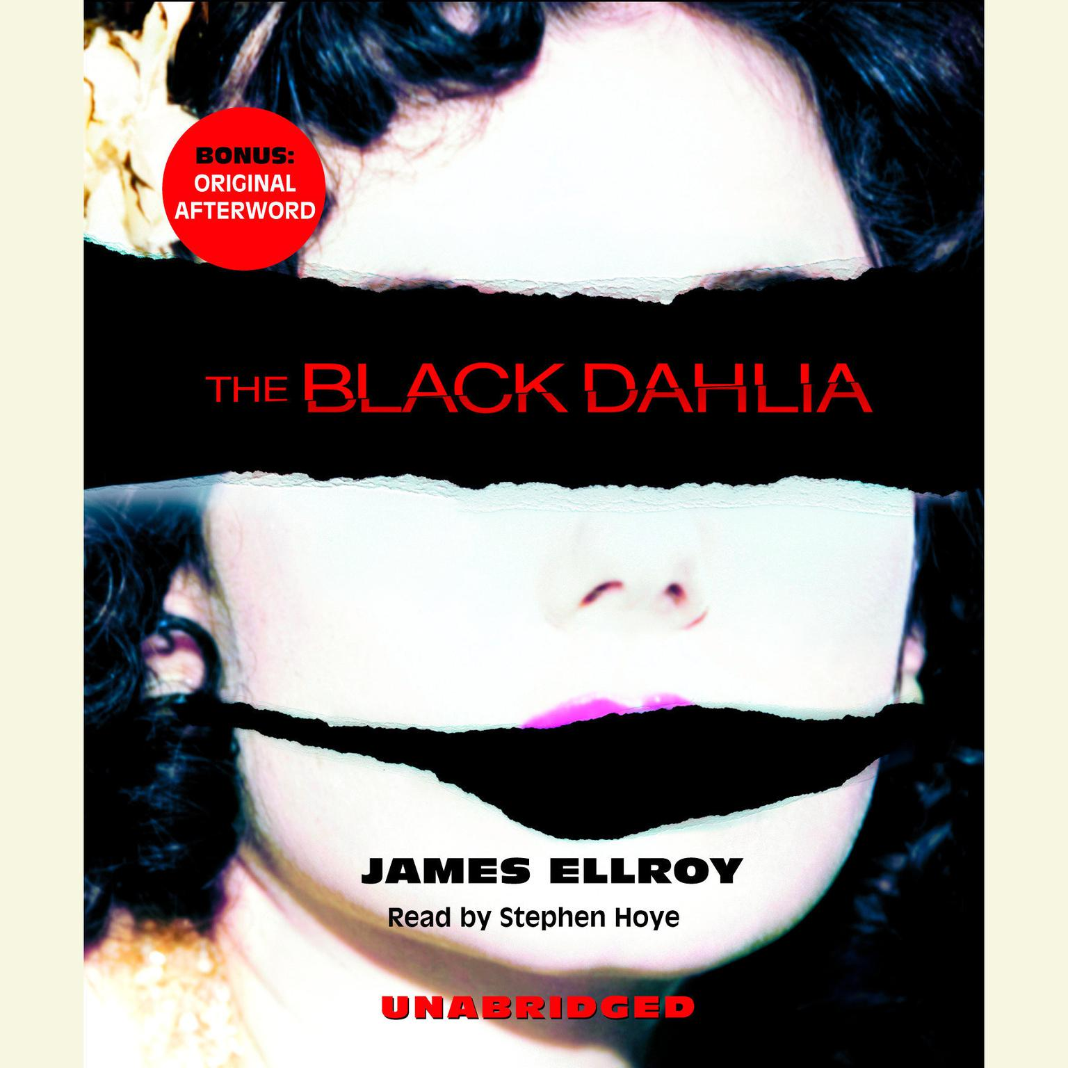 Printable The Black Dahlia Audiobook Cover Art