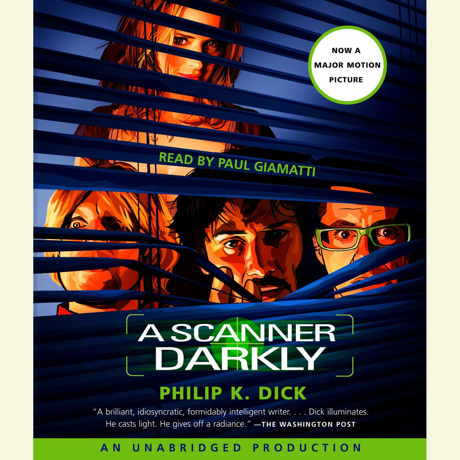 Printable A Scanner Darkly Audiobook Cover Art